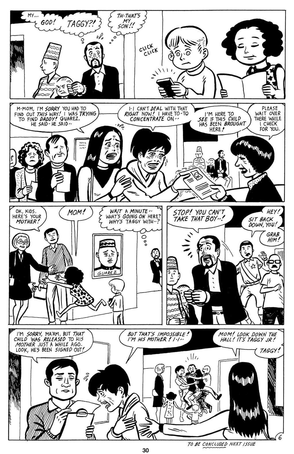 Read online Love and Rockets (2001) comic -  Issue #9 - 32