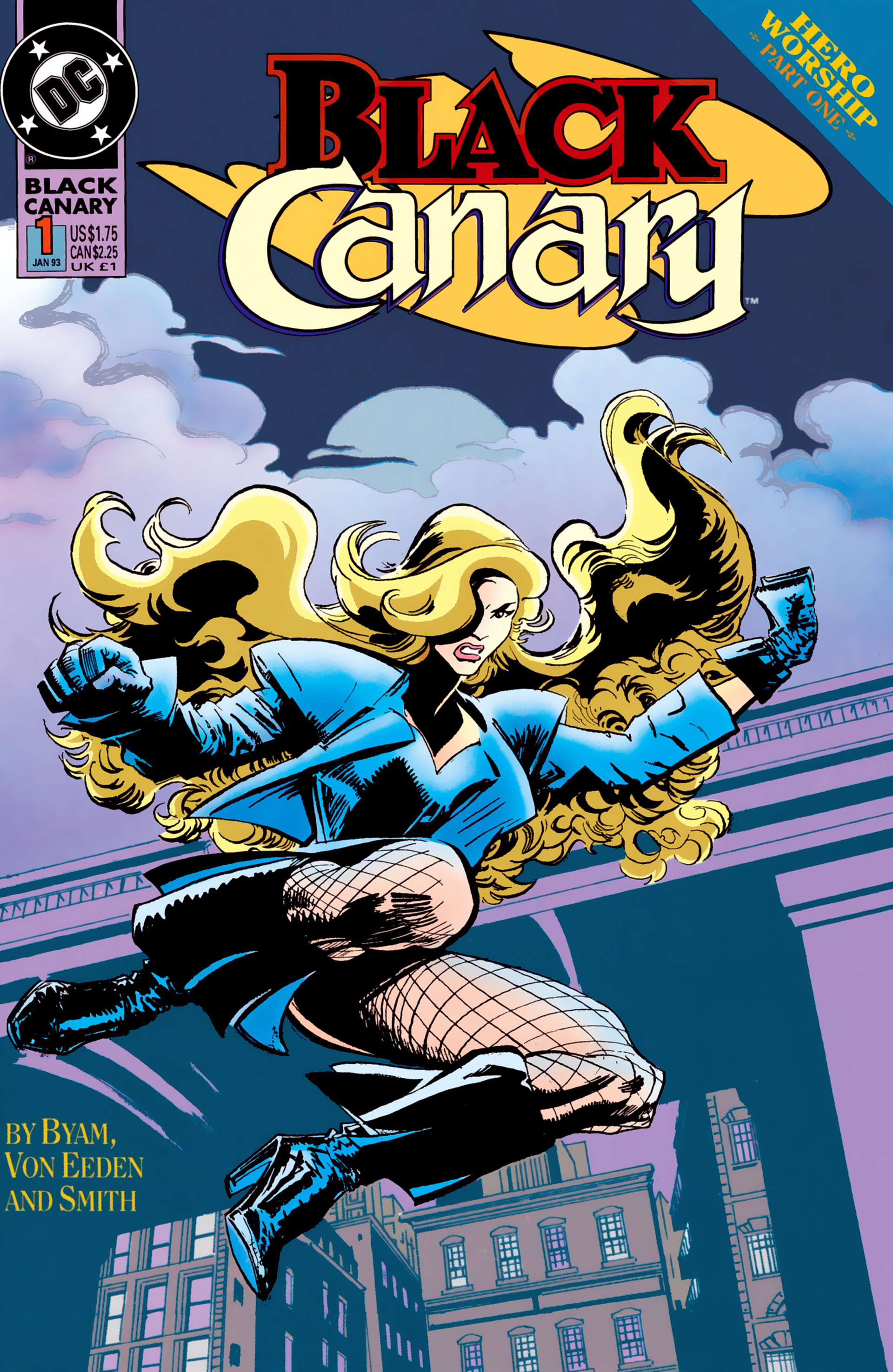 Black Canary (1993) 1 Page 1