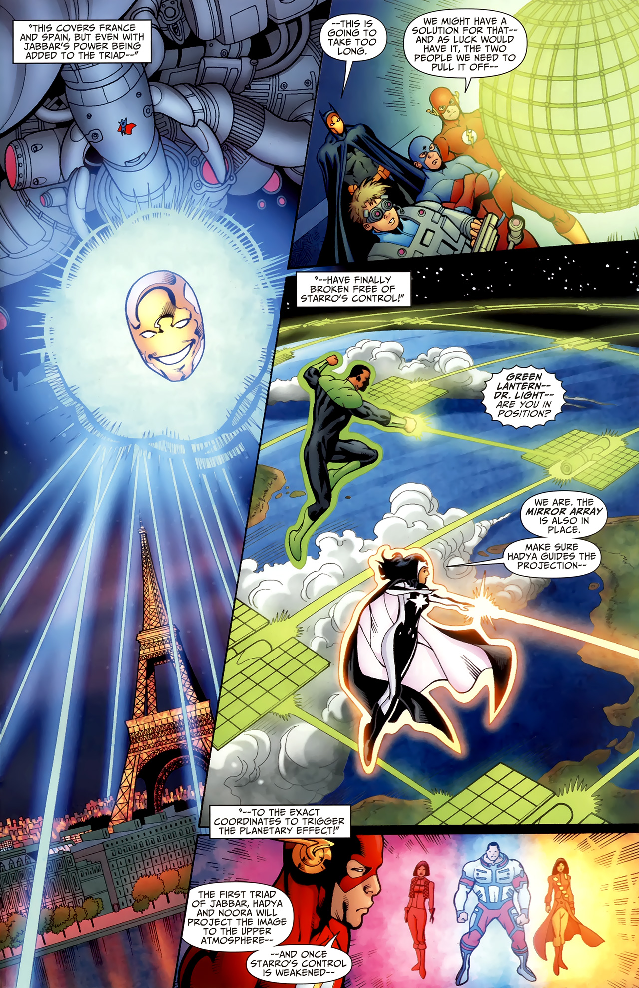 Read online Justice League of America/The 99 comic -  Issue #6 - 16
