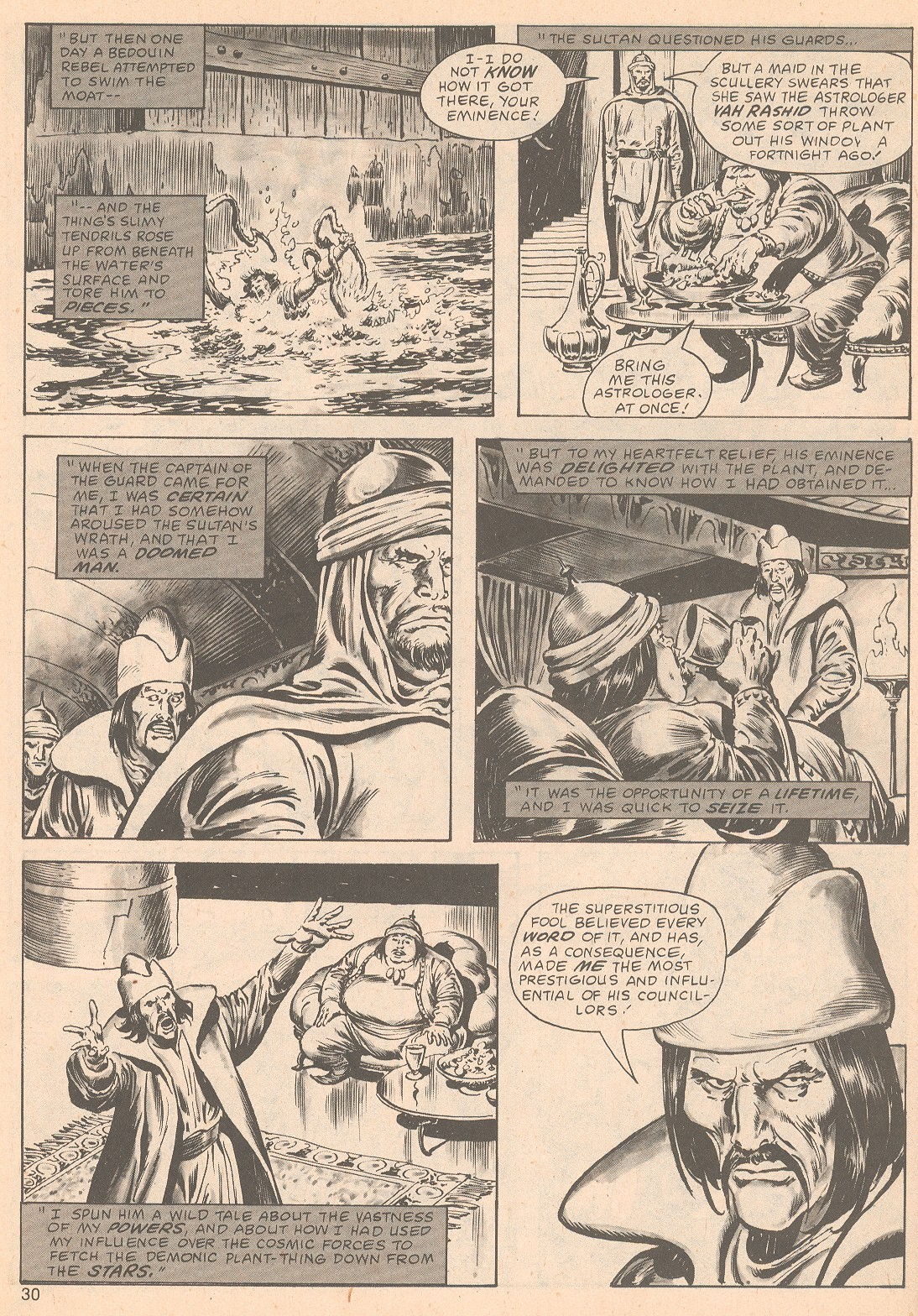 The Savage Sword Of Conan Issue #63 #64 - English 30