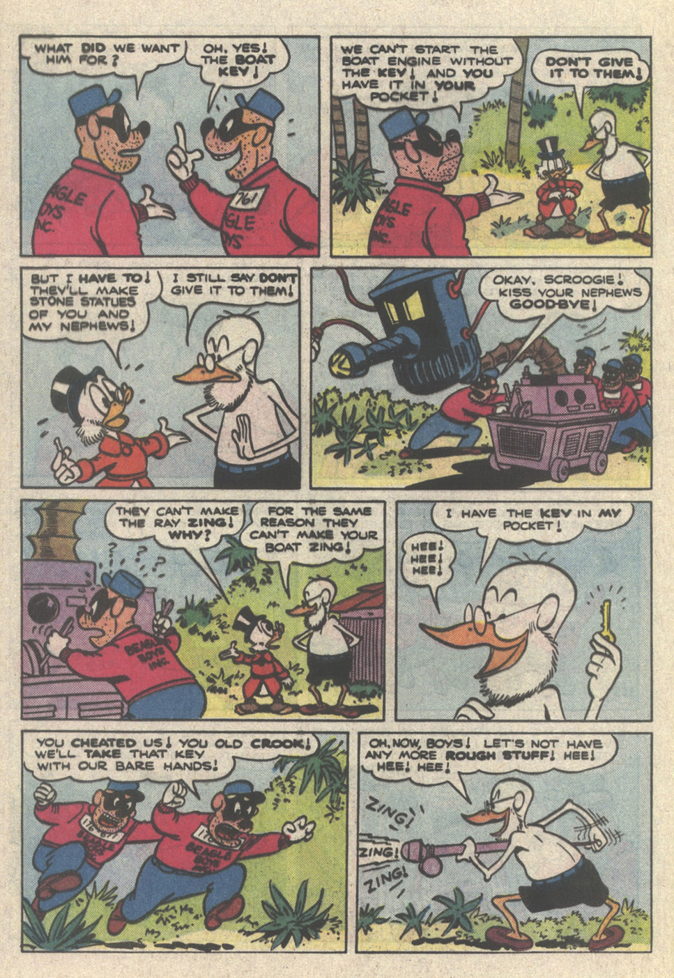 Uncle Scrooge (1953) Issue #222 #222 - English 32