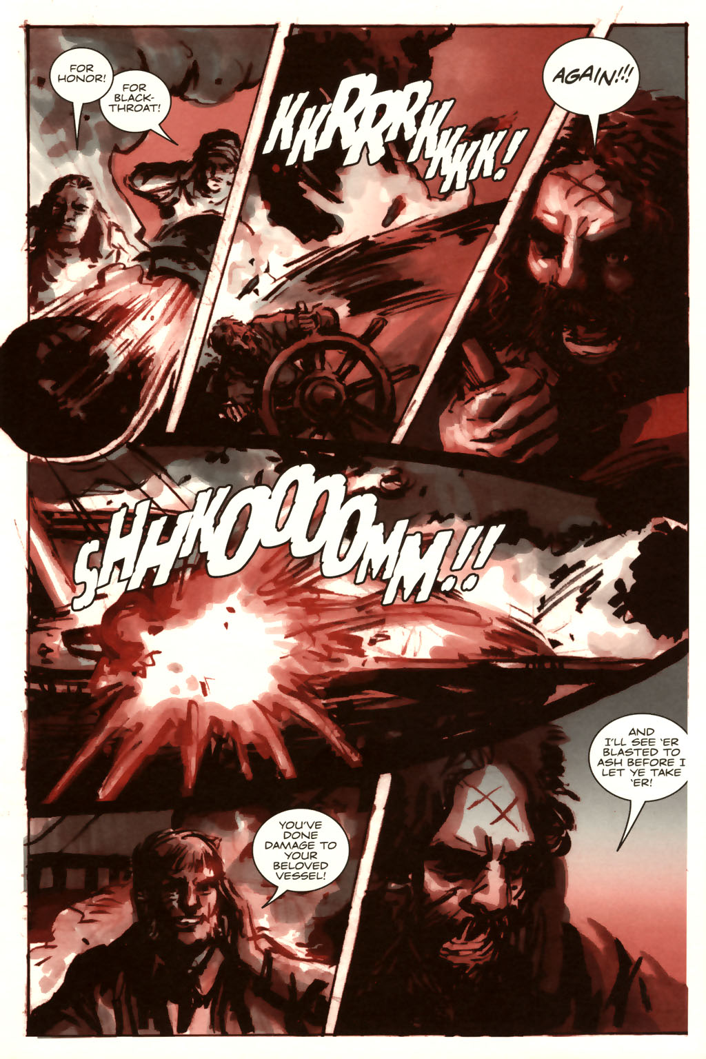 Read online Sea of Red comic -  Issue #9 - 20