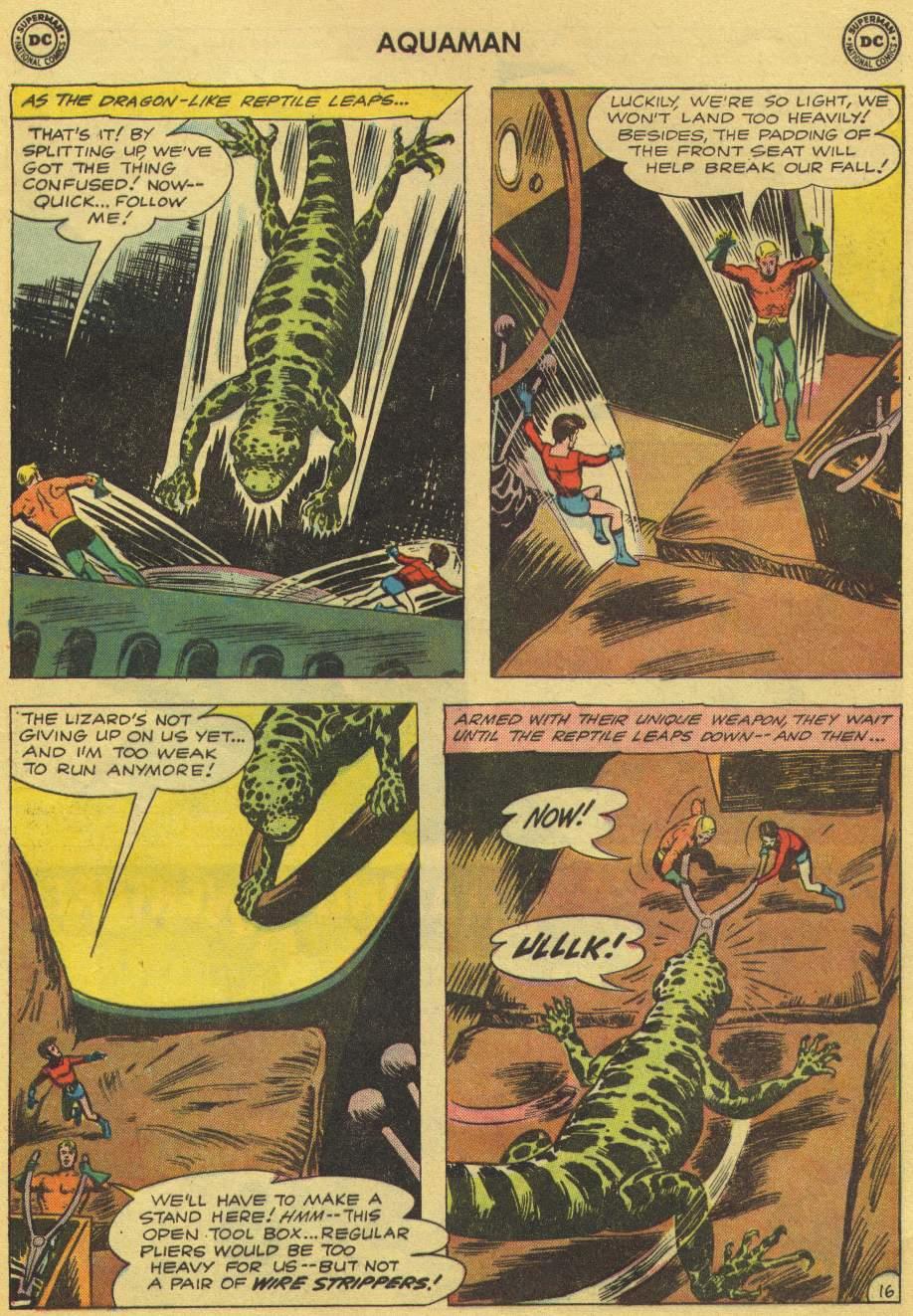 Read online Aquaman (1962) comic -  Issue #1 - 21