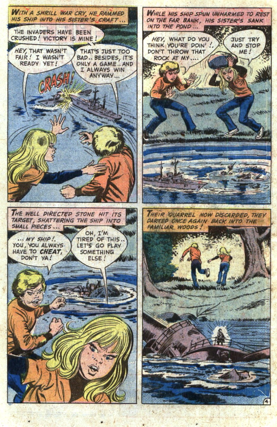 Read online Scary Tales comic -  Issue #5 - 18