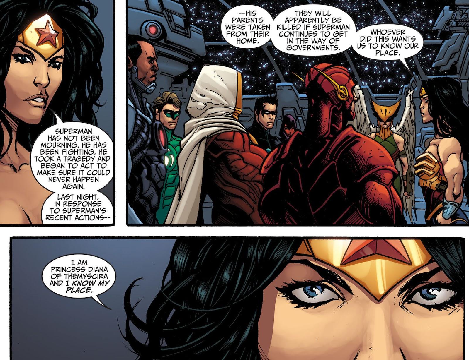 Injustice: Gods Among Us [I] Issue #8 #9 - English 4