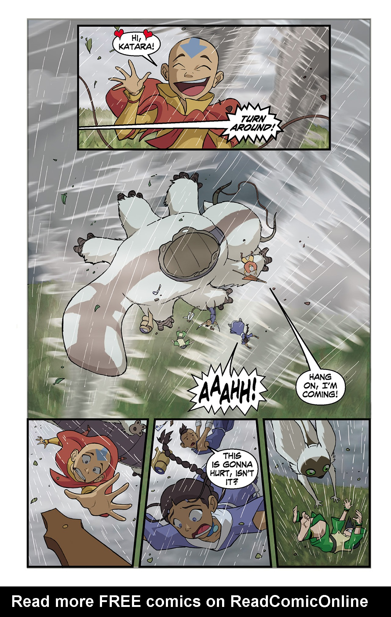 Nickelodeon Avatar: The Last Airbender - The Lost Adventures chap full pic 60