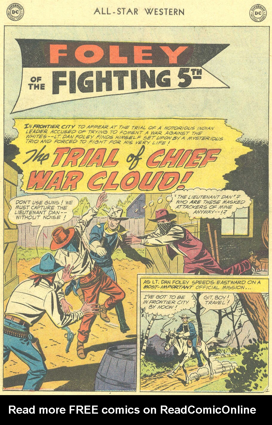 Read online All-Star Western (1951) comic -  Issue #105 - 16