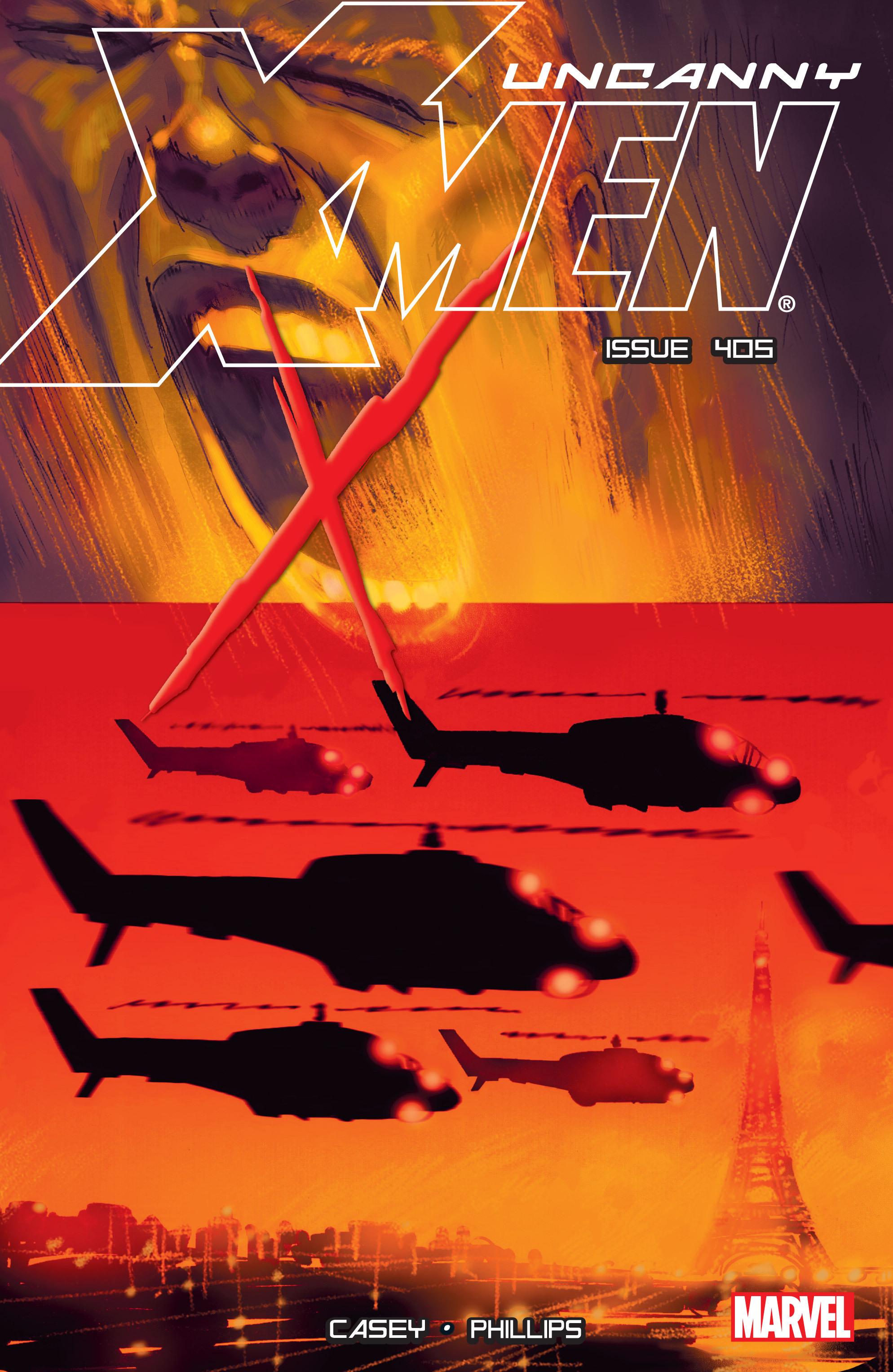 Uncanny X-Men (1963) 405 Page 1