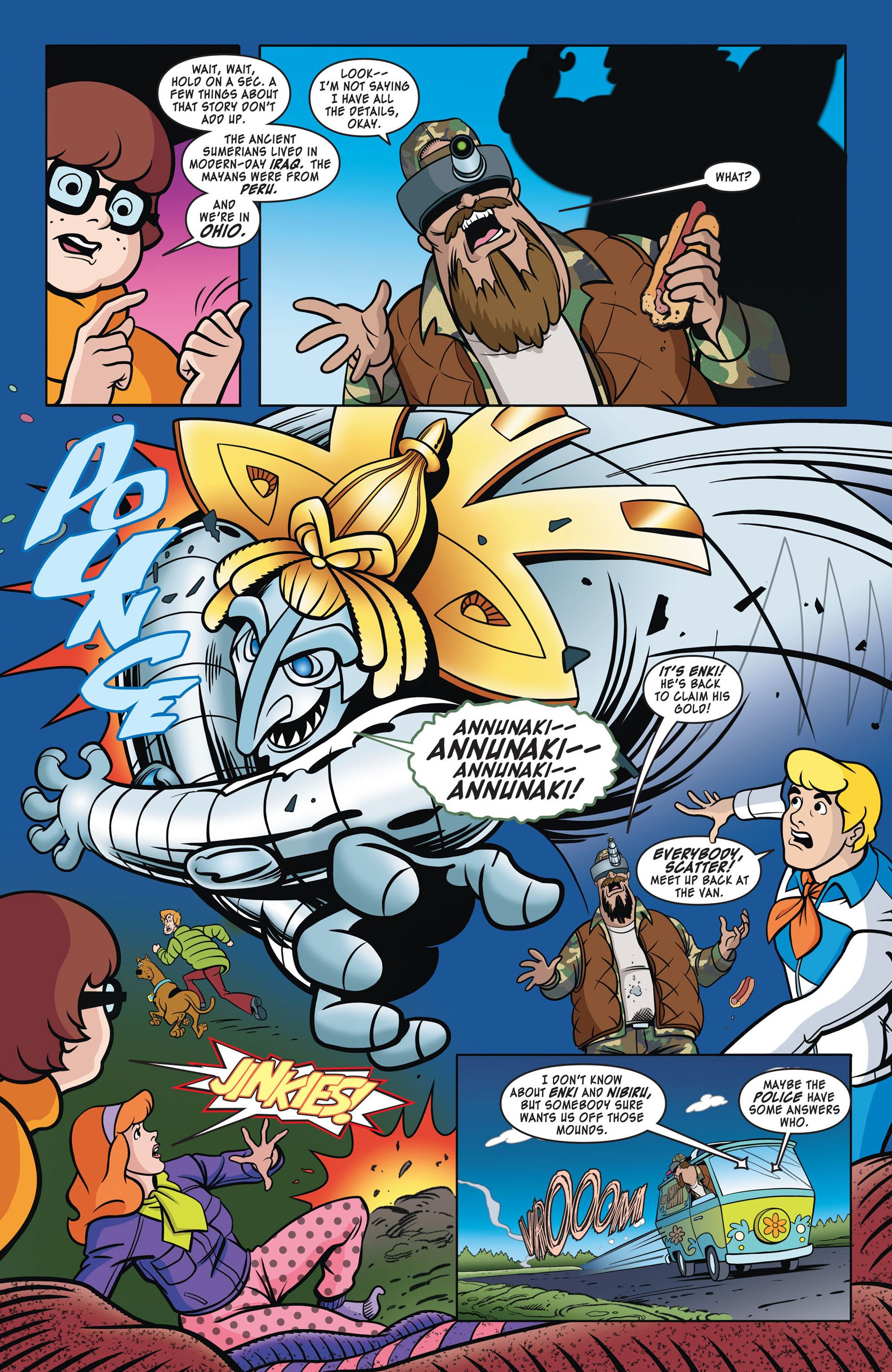 Read online Scooby-Doo: Where Are You? comic -  Issue #41 - 7