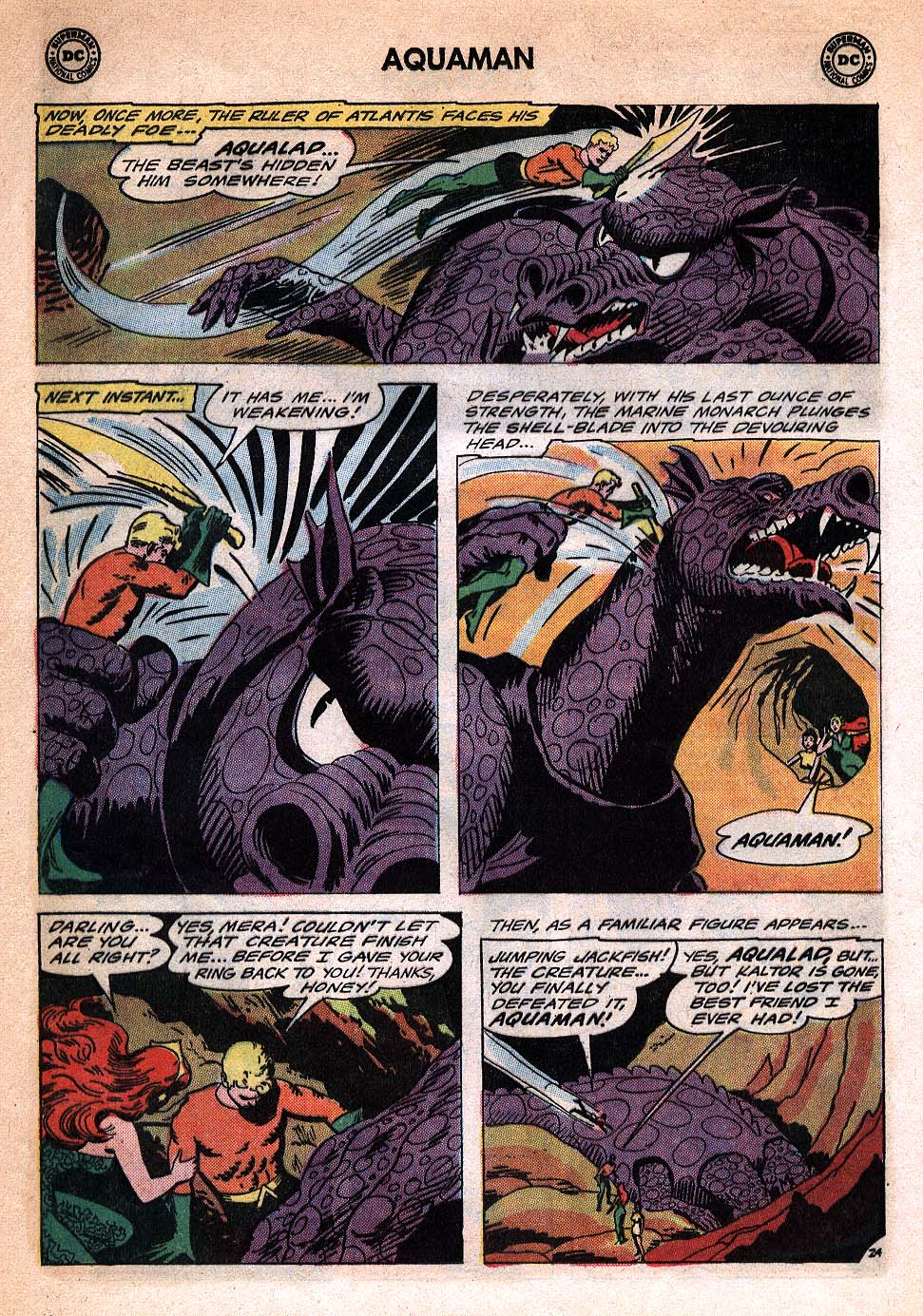Aquaman (1962) Issue #20 #20 - English 32