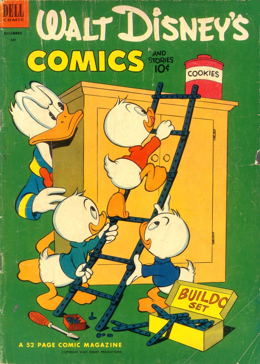 Walt Disneys Comics and Stories 147 Page 1