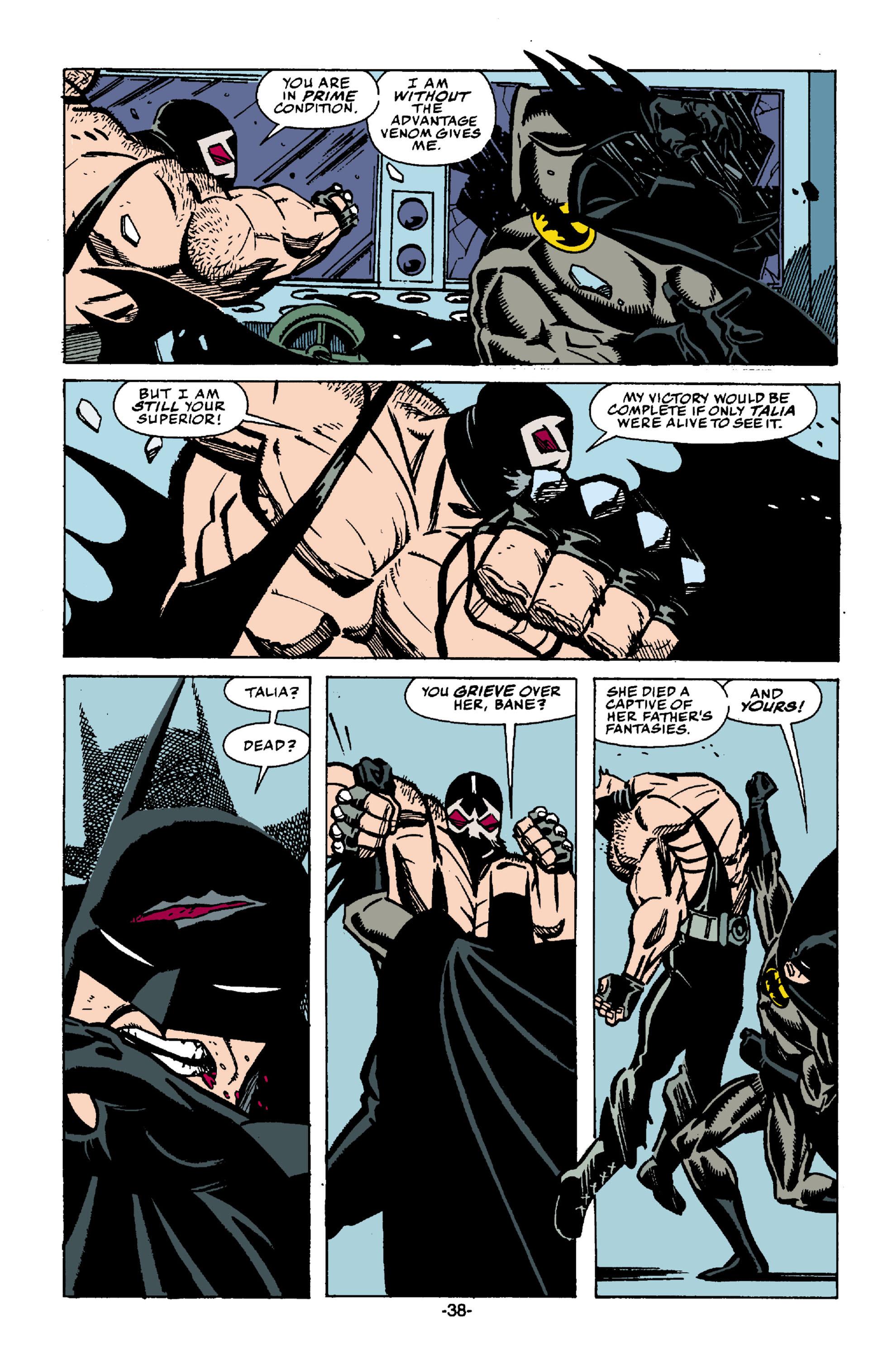 Read online Batman: Bane comic -  Issue # Full - 39