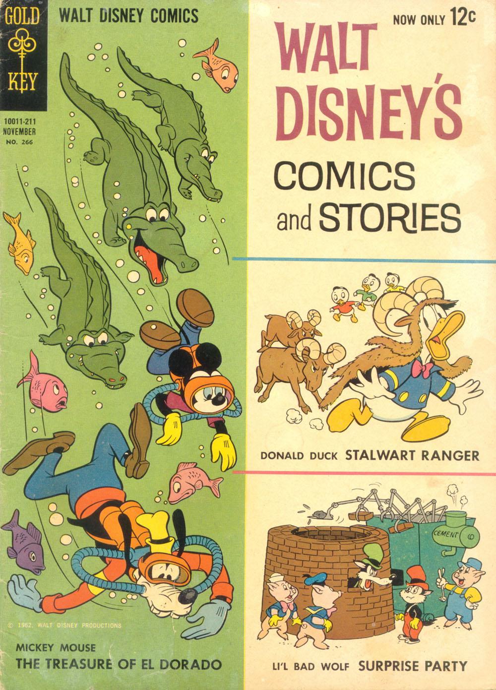 Walt Disneys Comics and Stories 266 Page 1