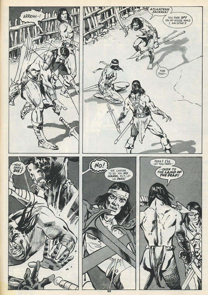 The Savage Sword Of Conan Issue #193 #194 - English 61