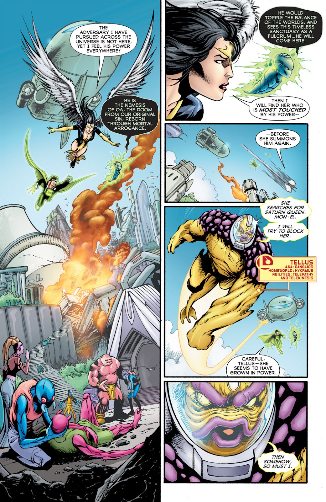 Legion of Super-Heroes (2010) Issue #15 #16 - English 7
