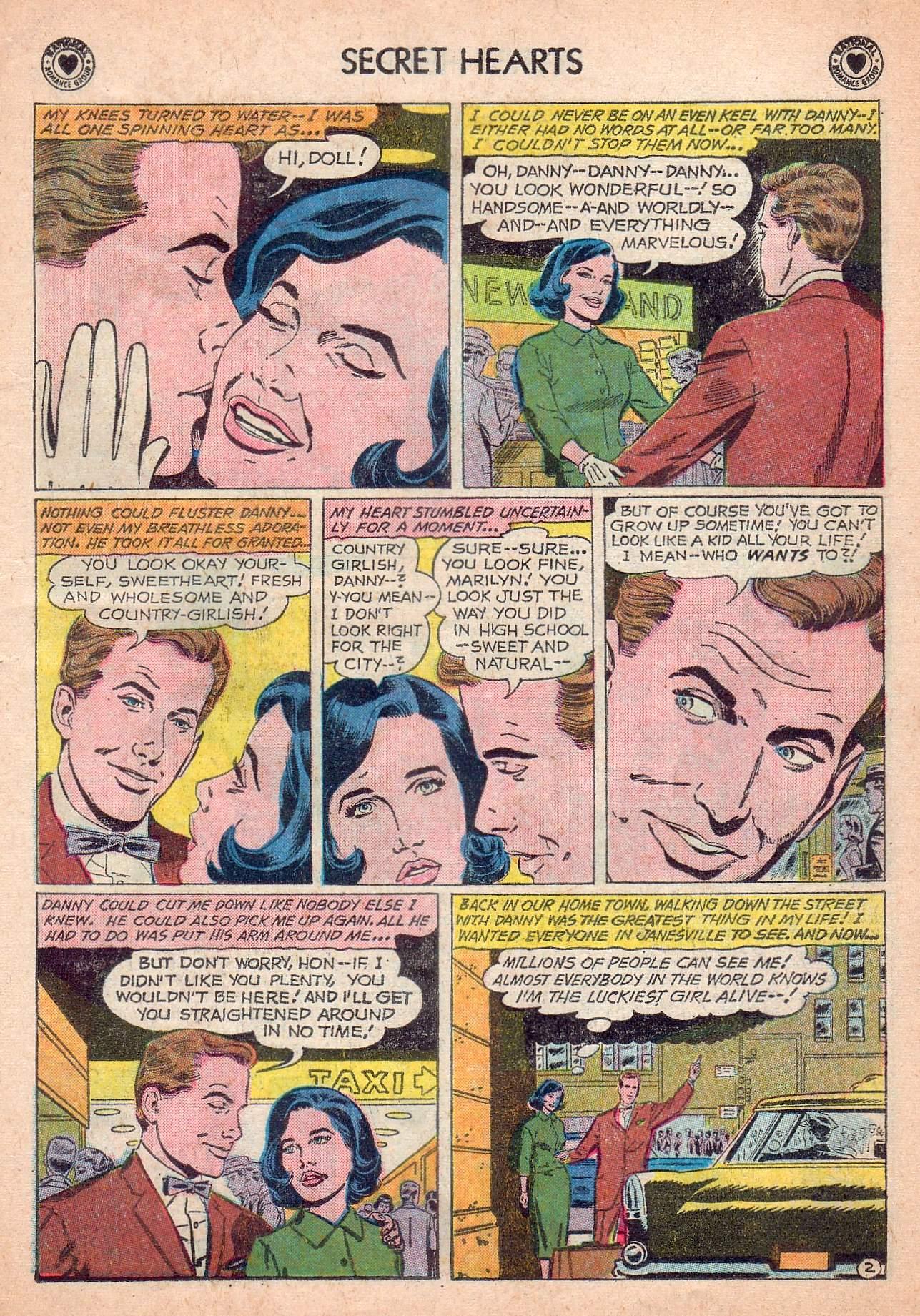 Read online Secret Hearts comic -  Issue #63 - 19