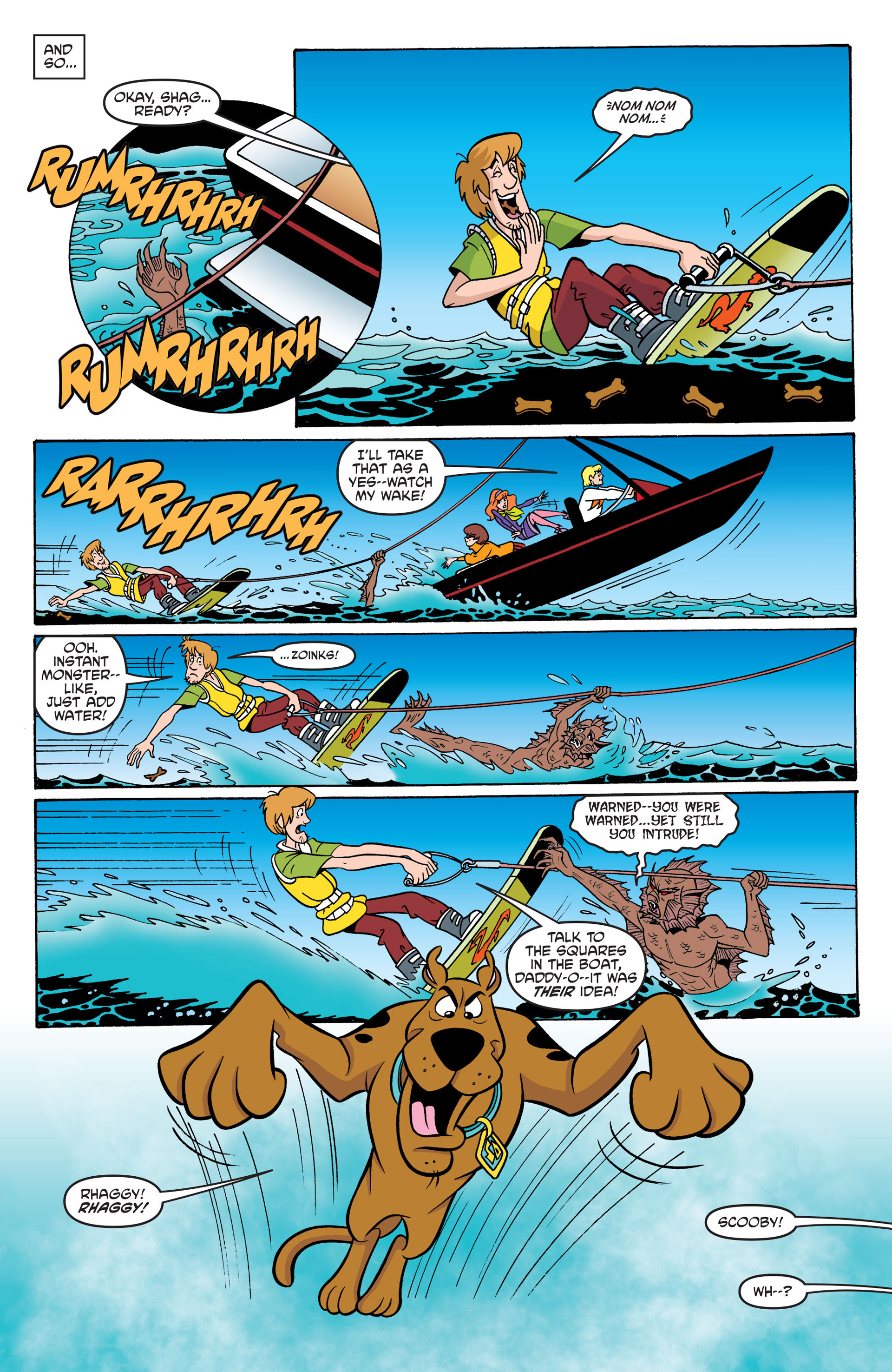 Read online Scooby-Doo: Where Are You? comic -  Issue #42 - 18