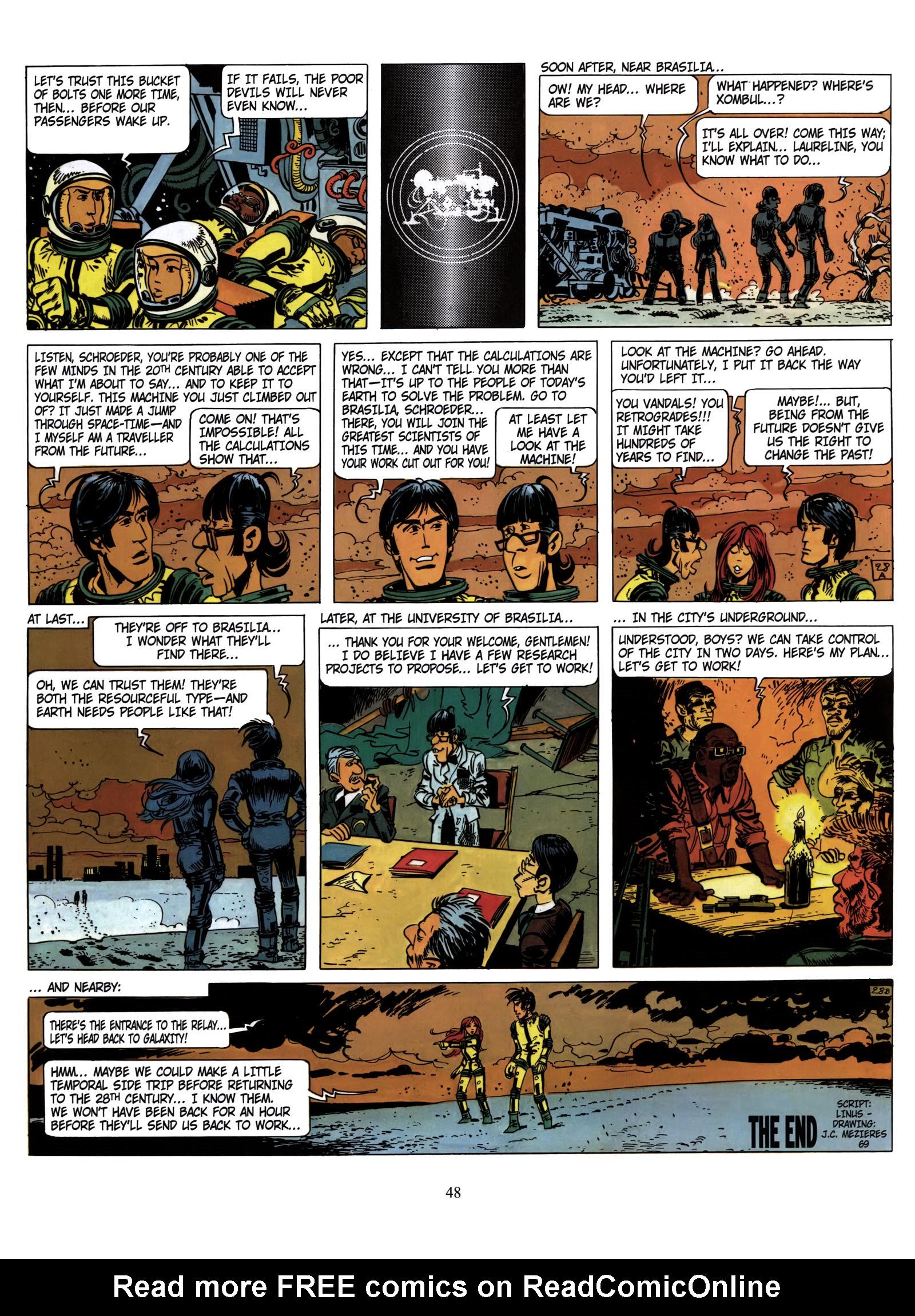 Valerian and Laureline #1 #23 - English 54