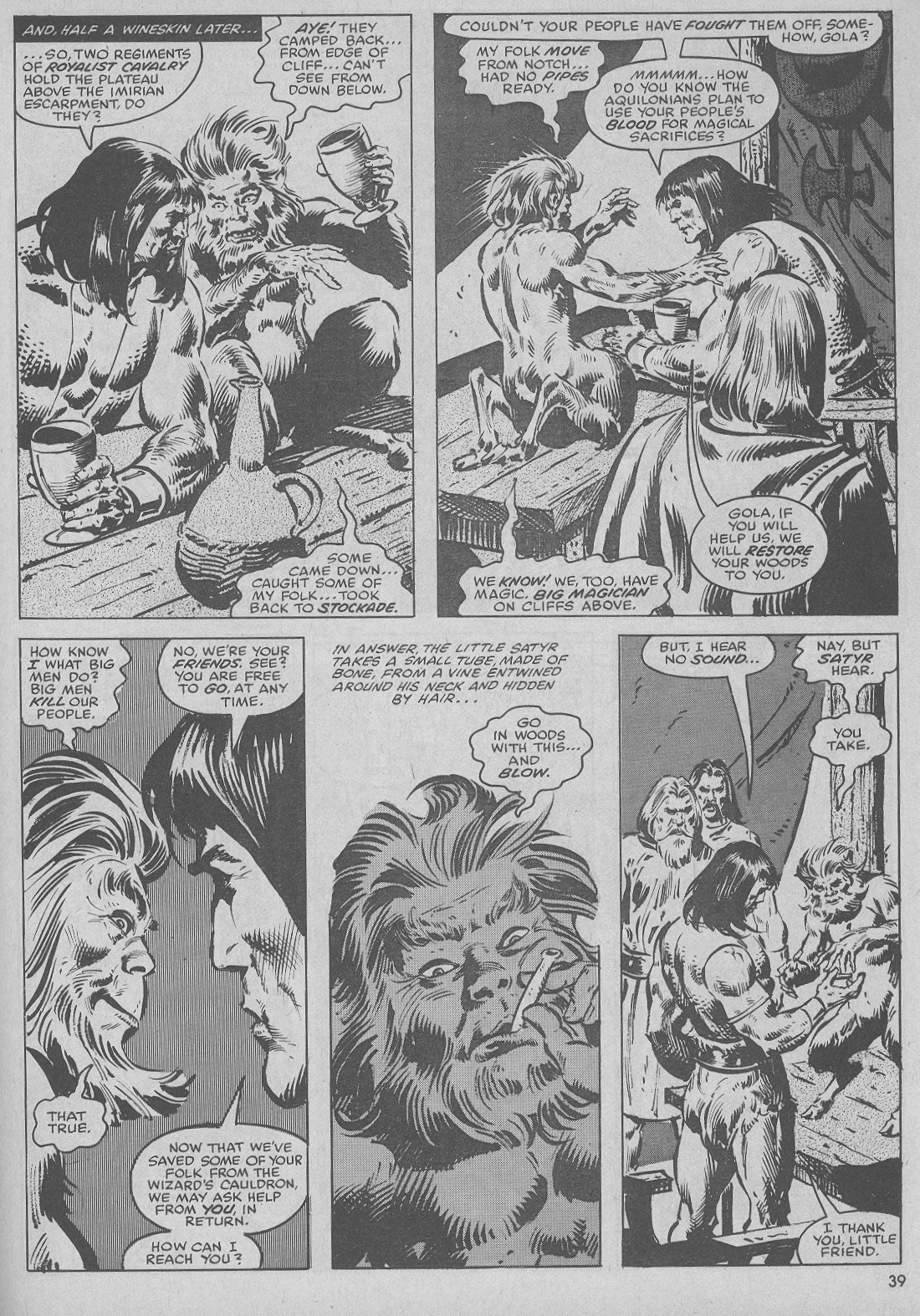 The Savage Sword Of Conan Issue #51 #52 - English 39