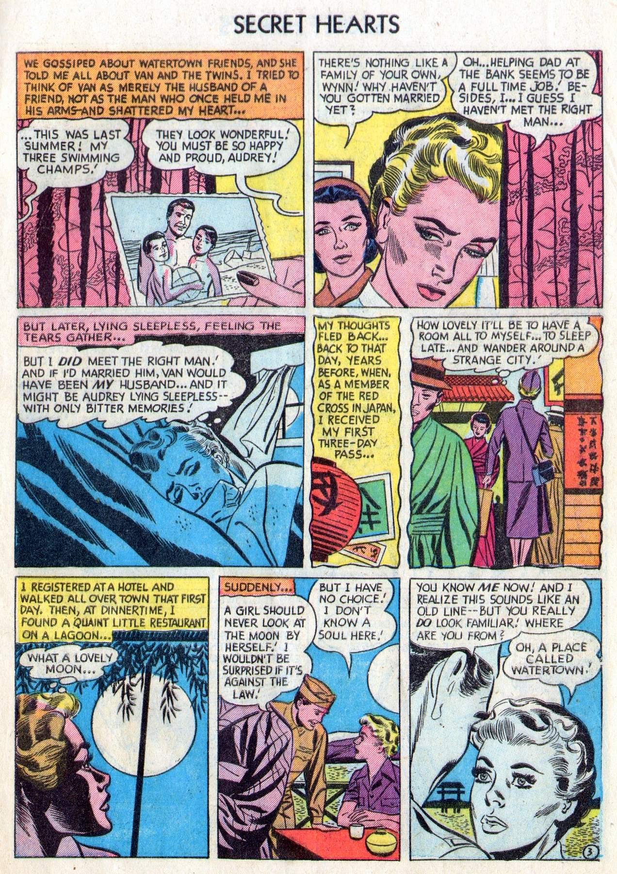 Read online Secret Hearts comic -  Issue #28 - 5