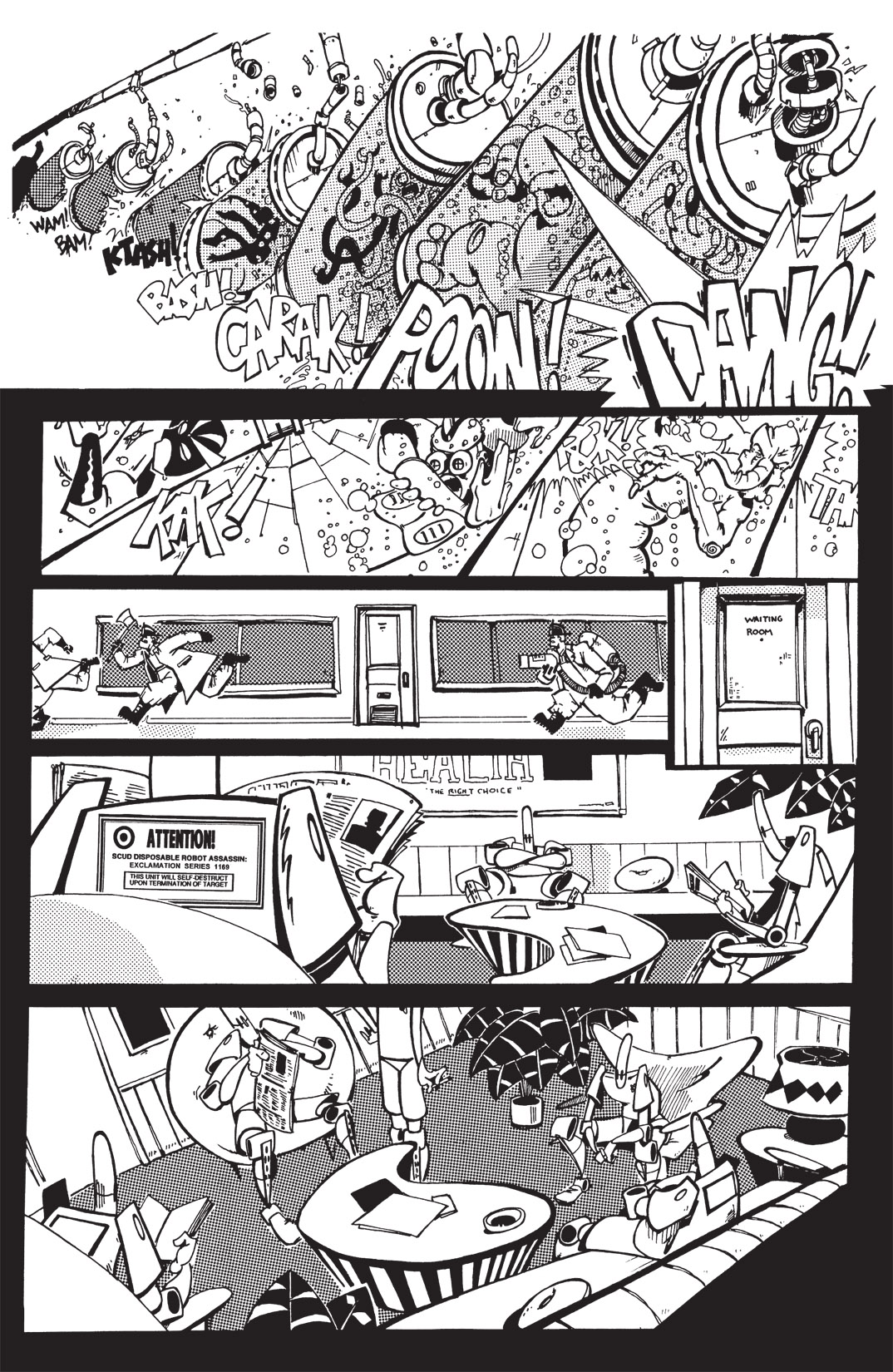 Read online Scud: The Disposable Assassin: The Whole Shebang comic -  Issue # TPB (Part 1) - 156