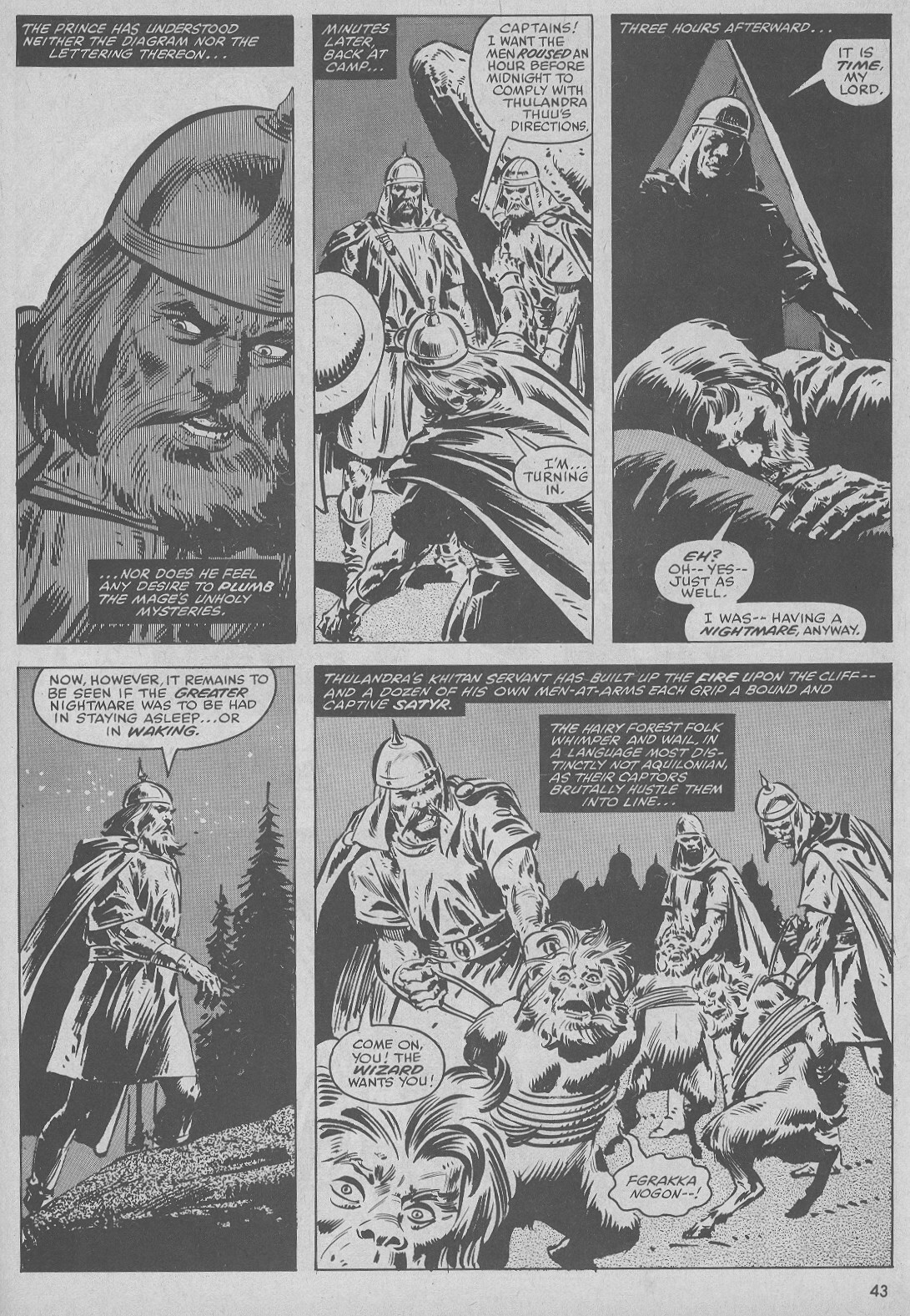 The Savage Sword Of Conan Issue #51 #52 - English 43