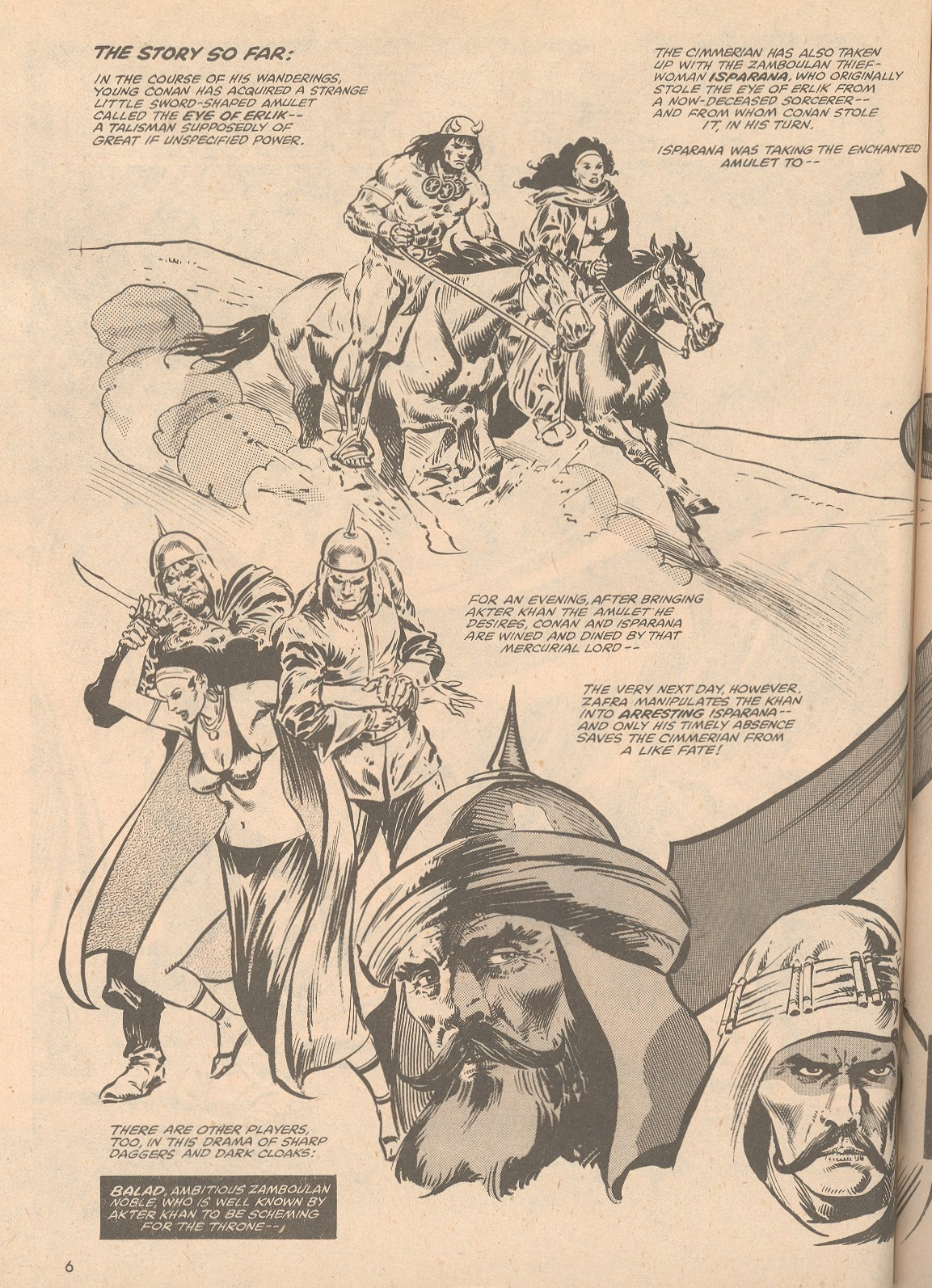 The Savage Sword Of Conan Issue #58 #59 - English 7