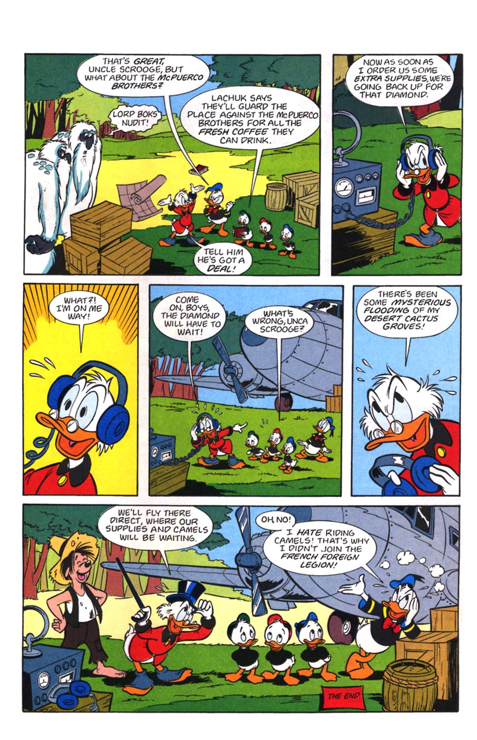 Uncle Scrooge (1953) Issue #257 #257 - English 28