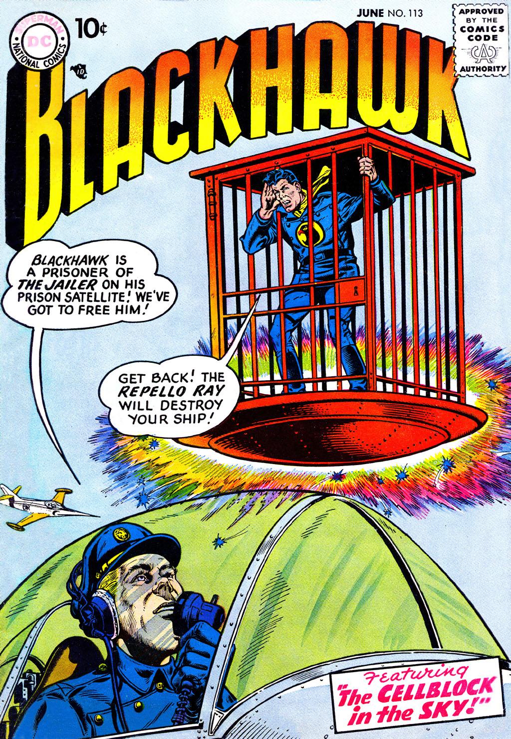 Blackhawk (1957) 113 Page 1