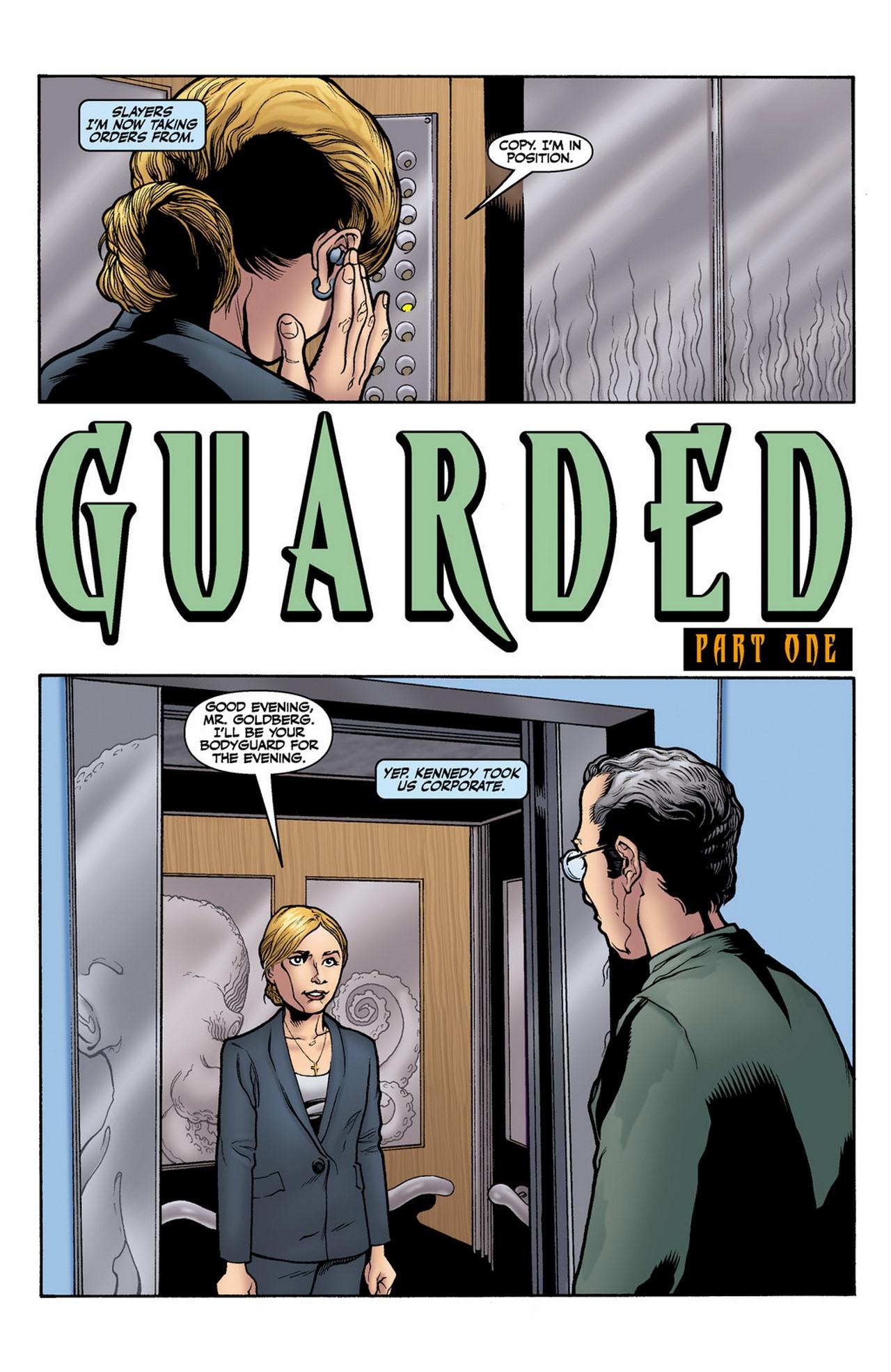 Read online Buffy the Vampire Slayer Season Nine comic -  Issue #11 - 4