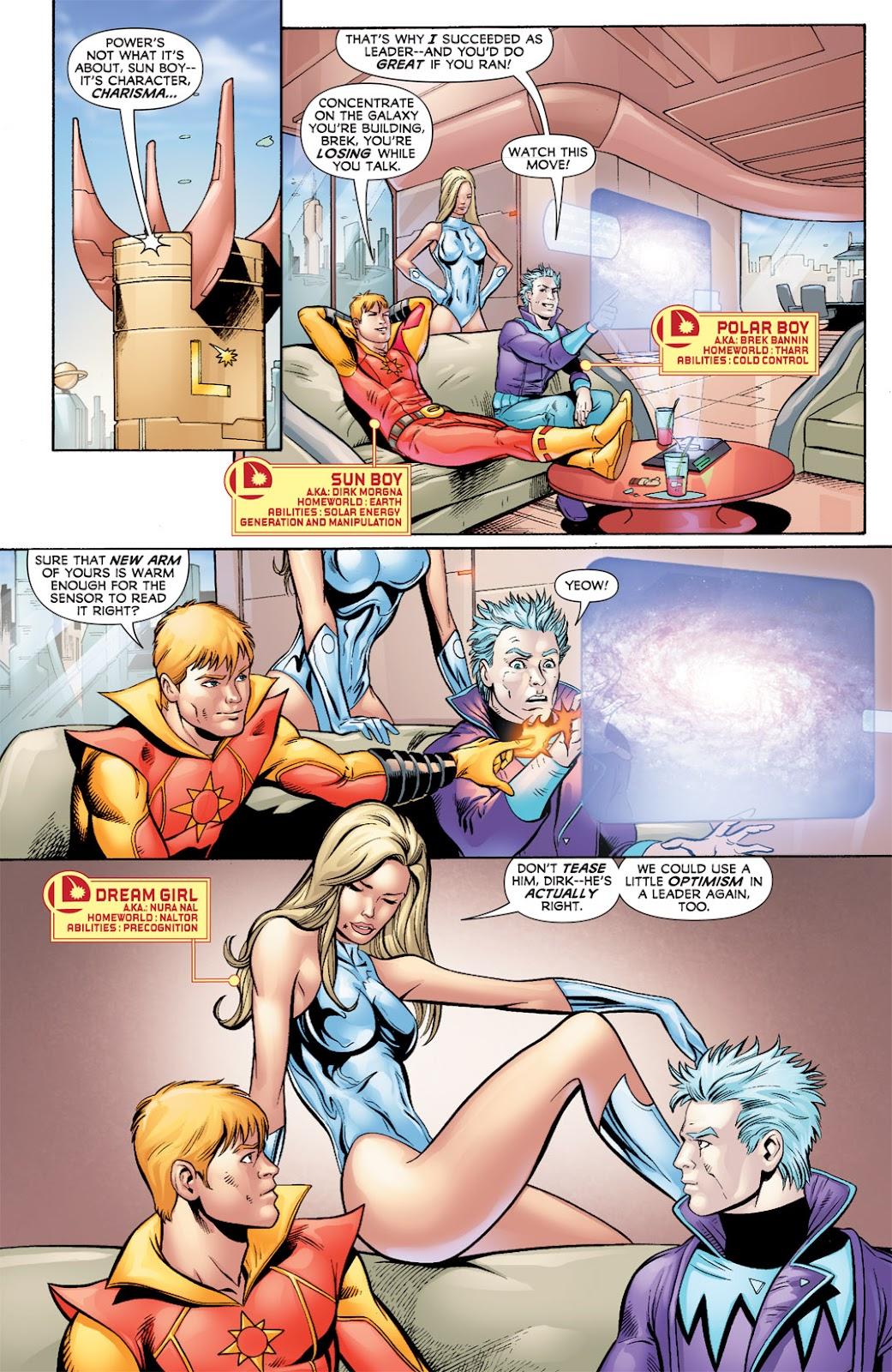 Legion of Super-Heroes (2010) Issue #7 #8 - English 6