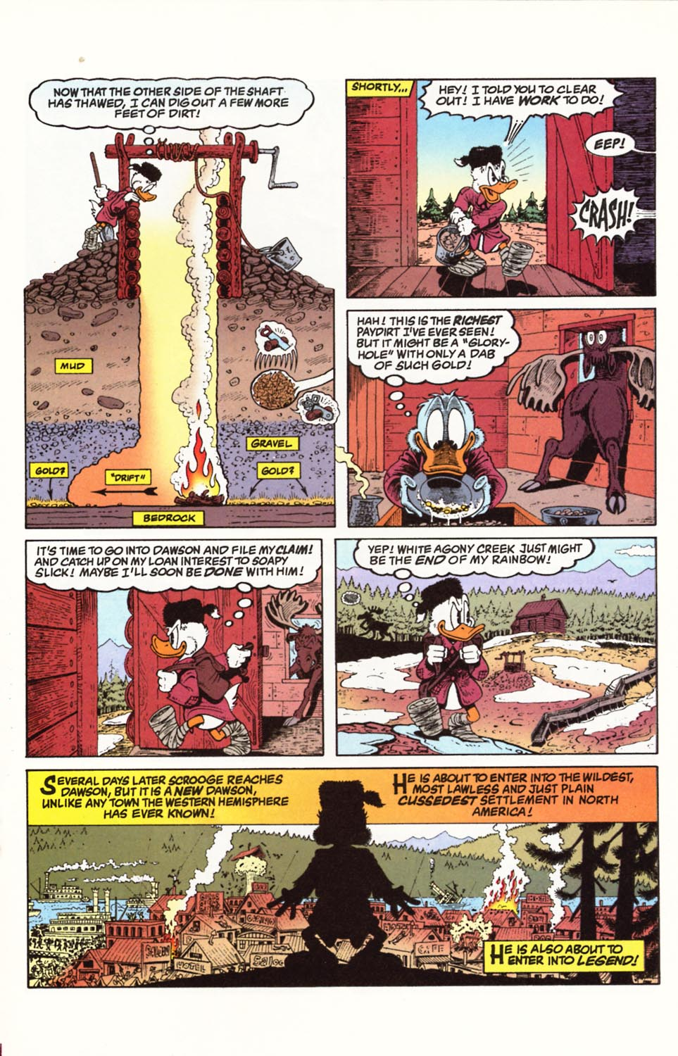 Uncle Scrooge (1953) Issue #292 #292 - English 17