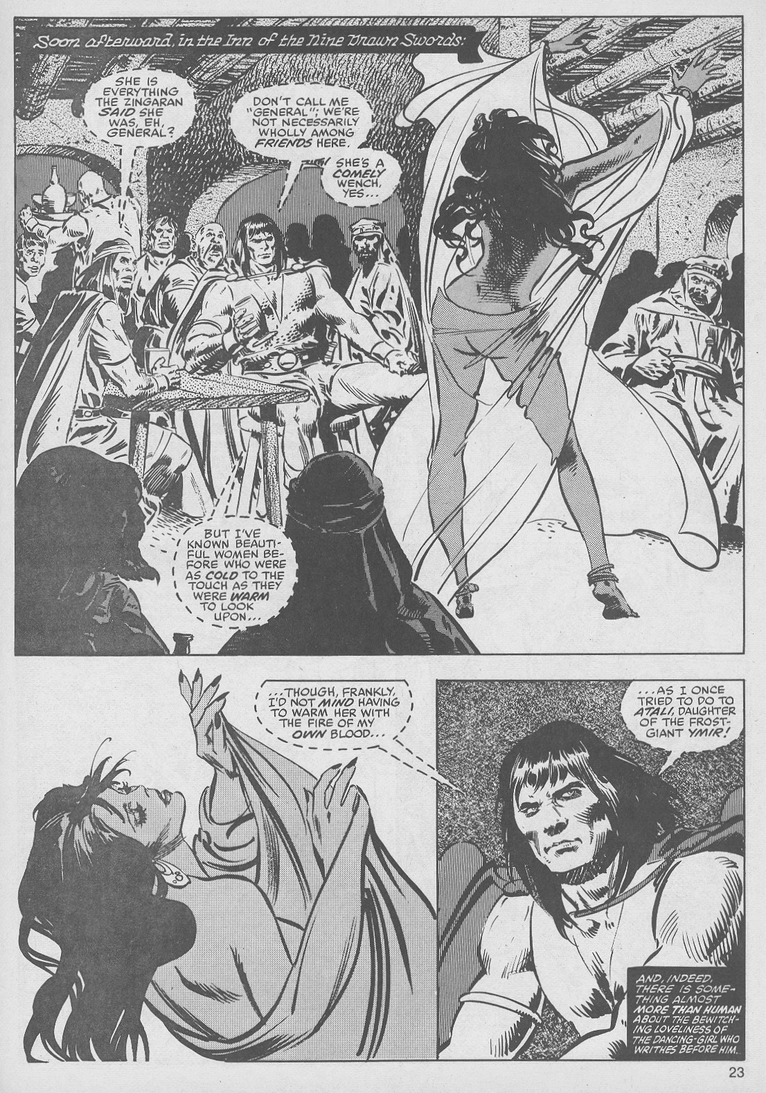 The Savage Sword Of Conan Issue #49 #50 - English 23