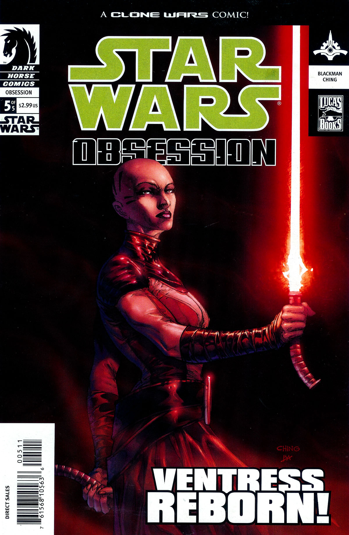Star Wars: Obsession issue 5 - Page 1