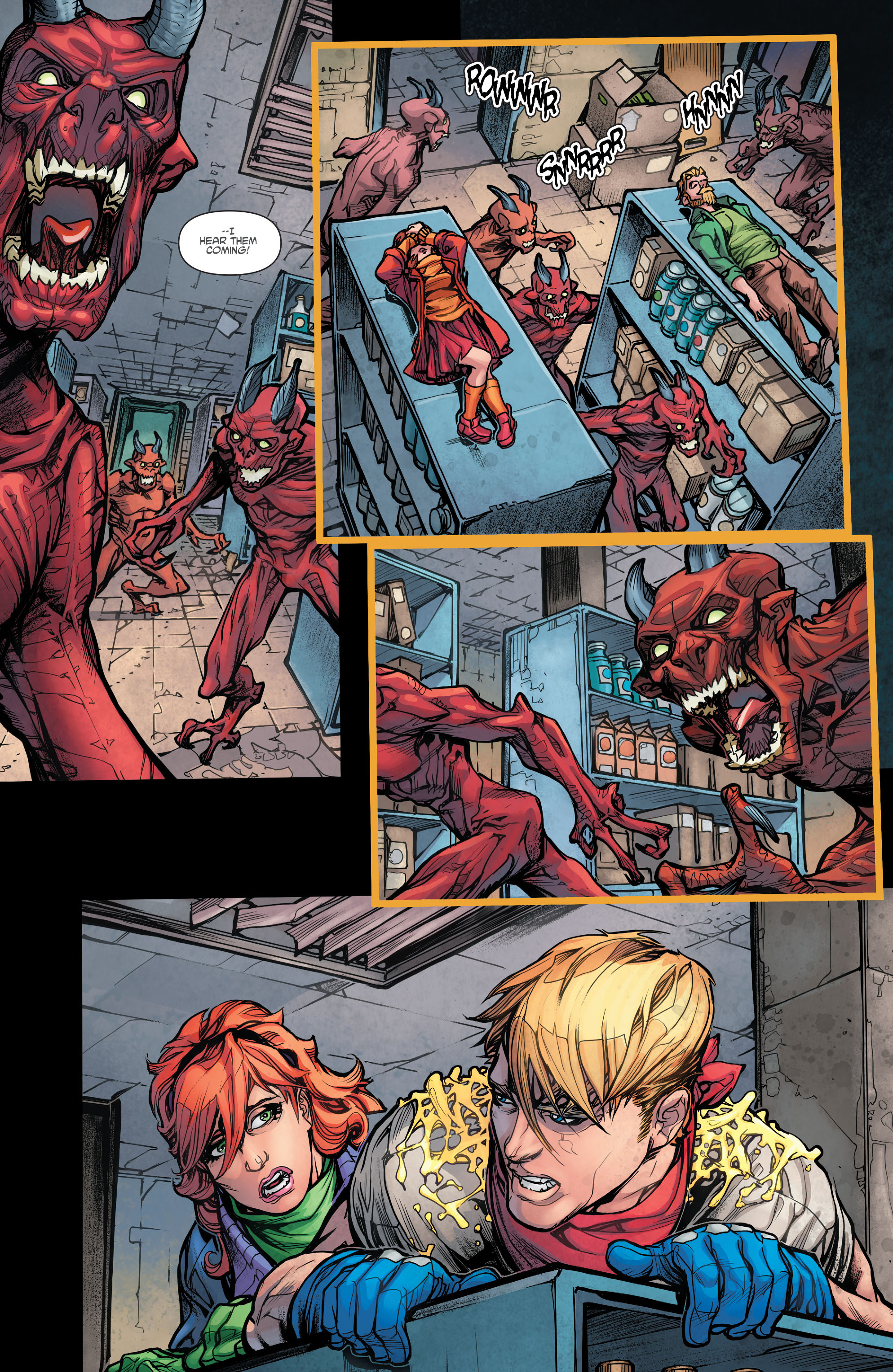 Read online Scooby Apocalypse comic -  Issue #5 - 18