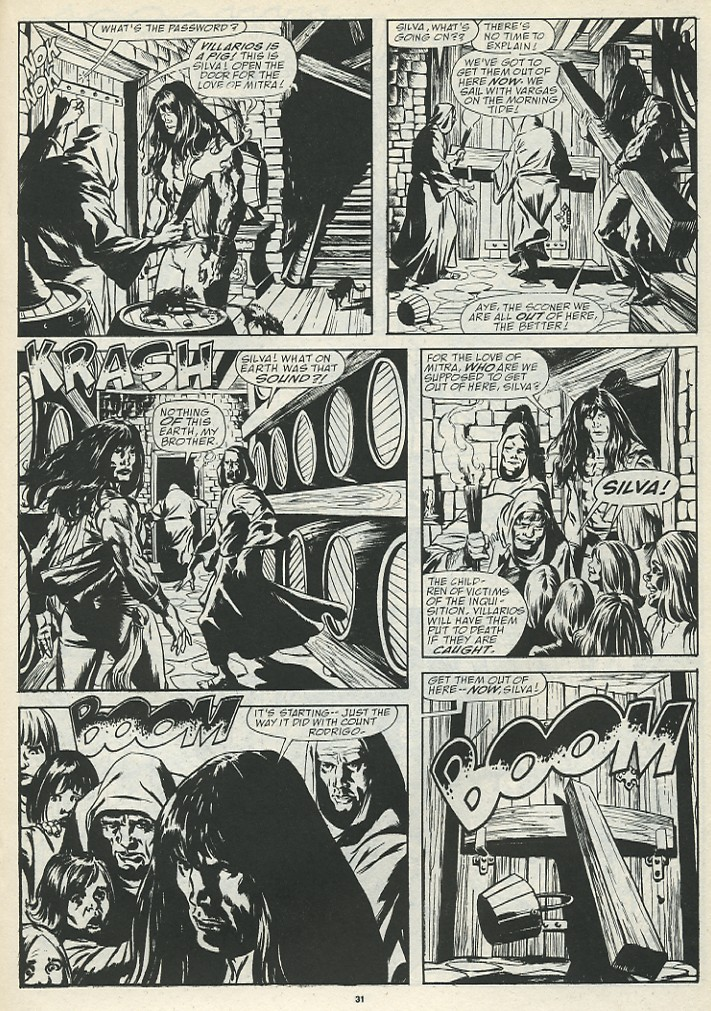 The Savage Sword Of Conan Issue #185 #186 - English 33