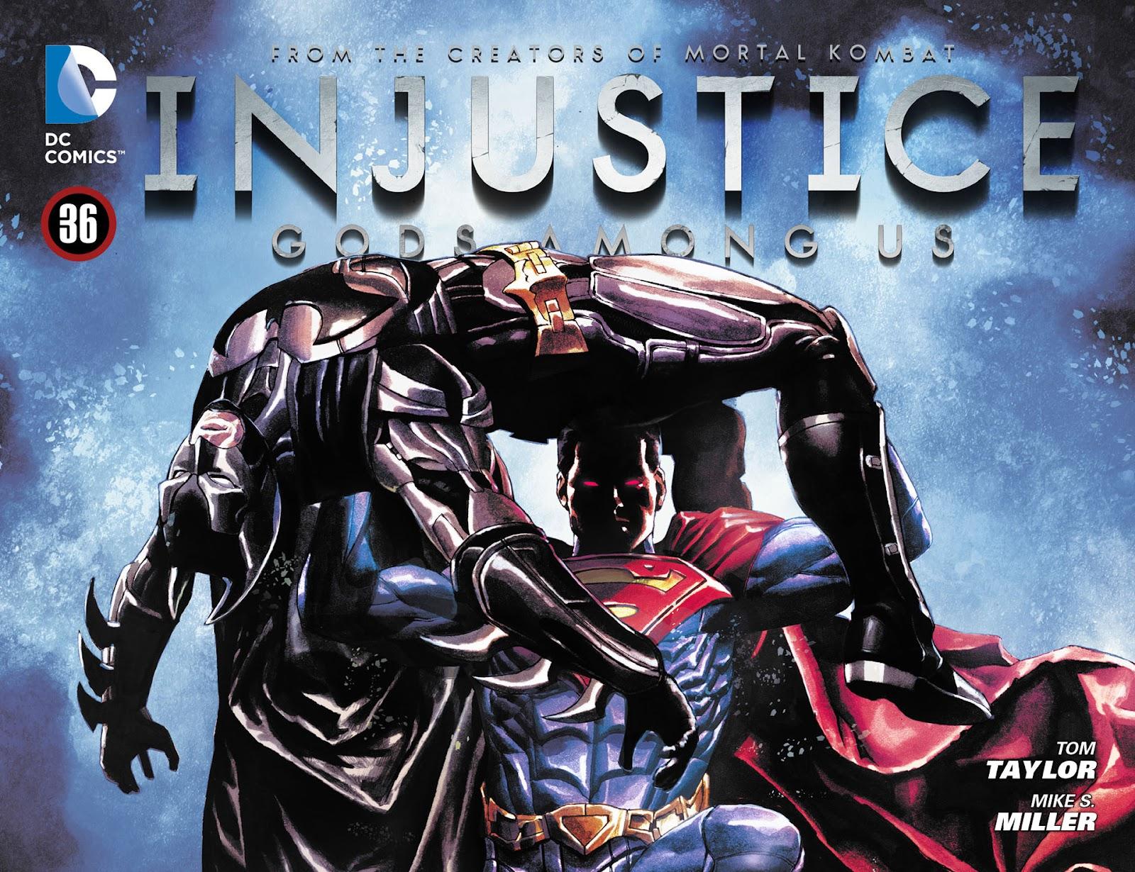 Injustice: Gods Among Us [I] Issue #36 #37 - English 1