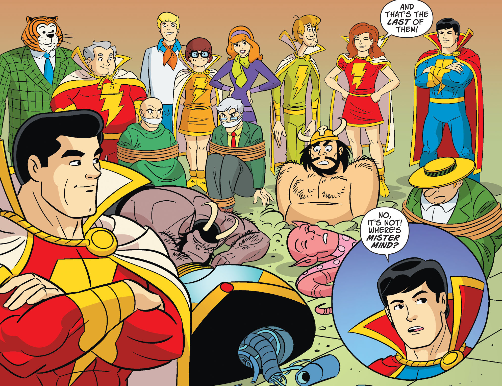 Read online Scooby-Doo! Team-Up comic -  Issue #32 - 19