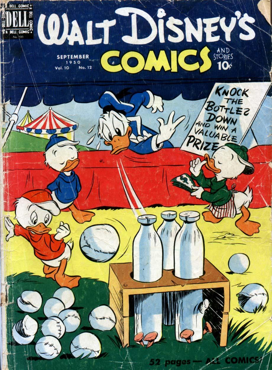 Walt Disneys Comics and Stories 120 Page 1