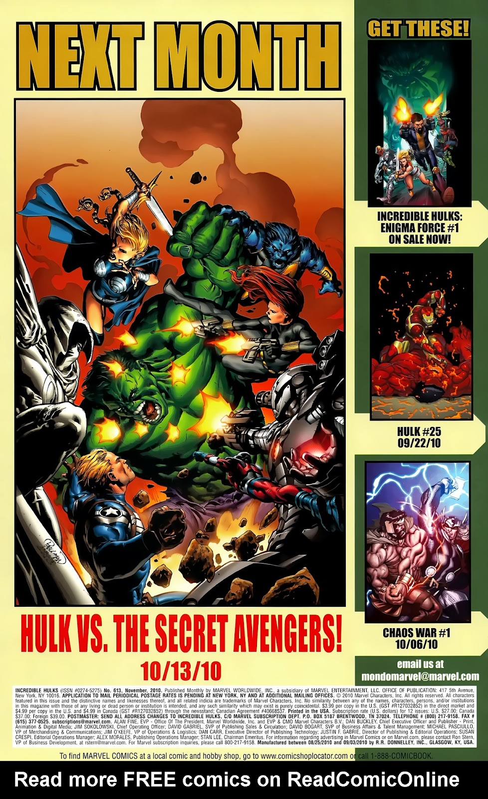 Incredible Hulks (2010) Issue #613 #3 - English 34