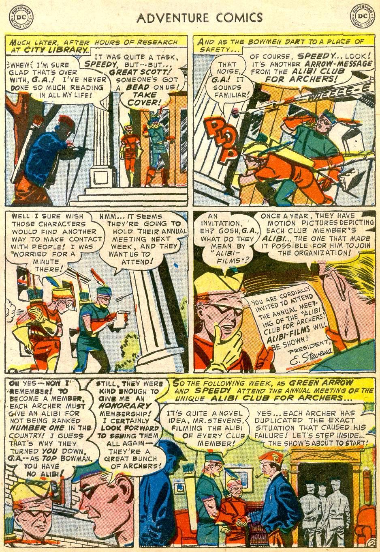 Read online Adventure Comics (1938) comic -  Issue #192 - 35