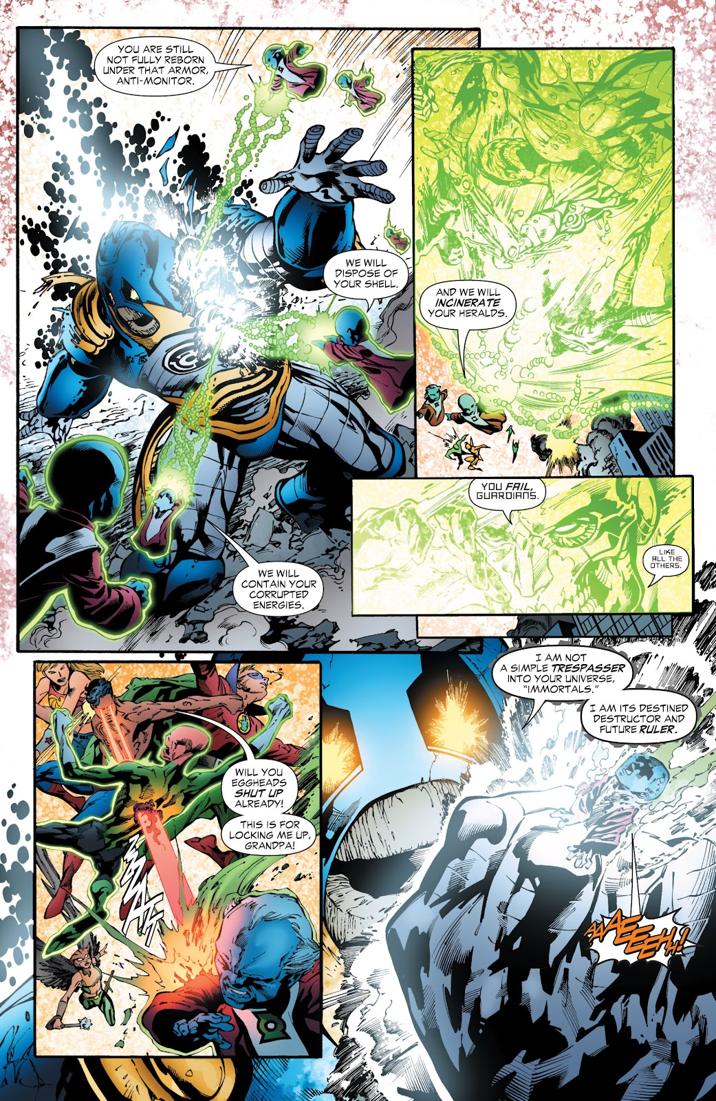 Green Lantern: The Sinestro Corps War Full #1 - English 264