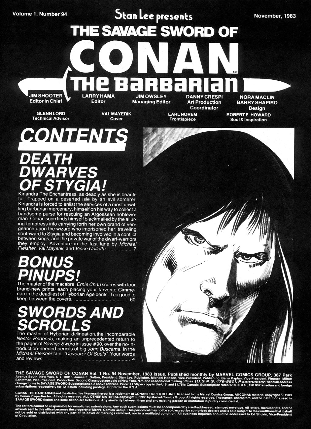 The Savage Sword Of Conan Issue #94 #95 - English 3
