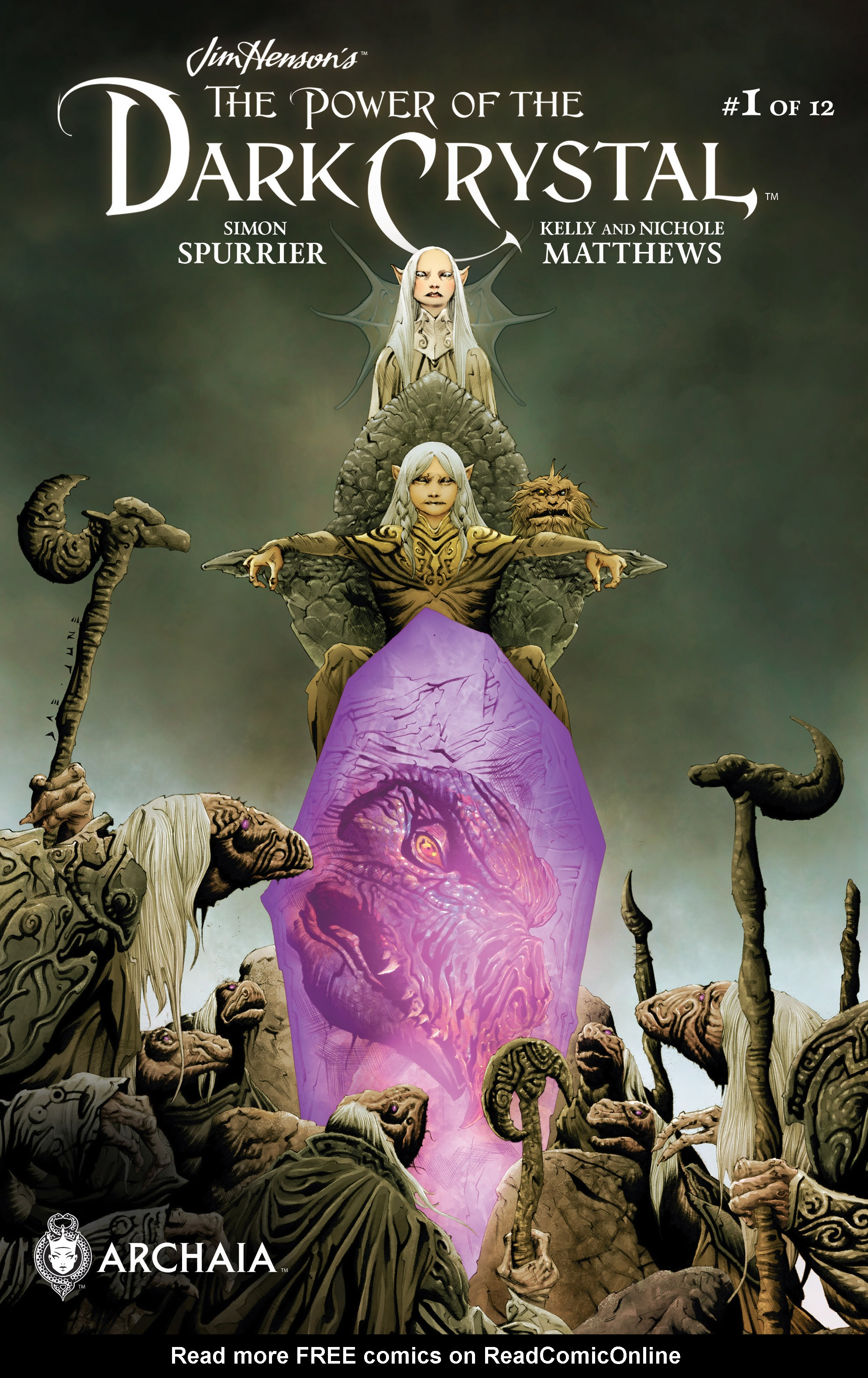 The Power of the Dark Crystal 1 Page 0