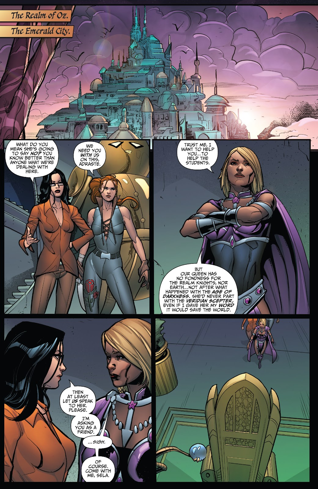 Grimm Fairy Tales (2005) Issue #124 #127 - English 6
