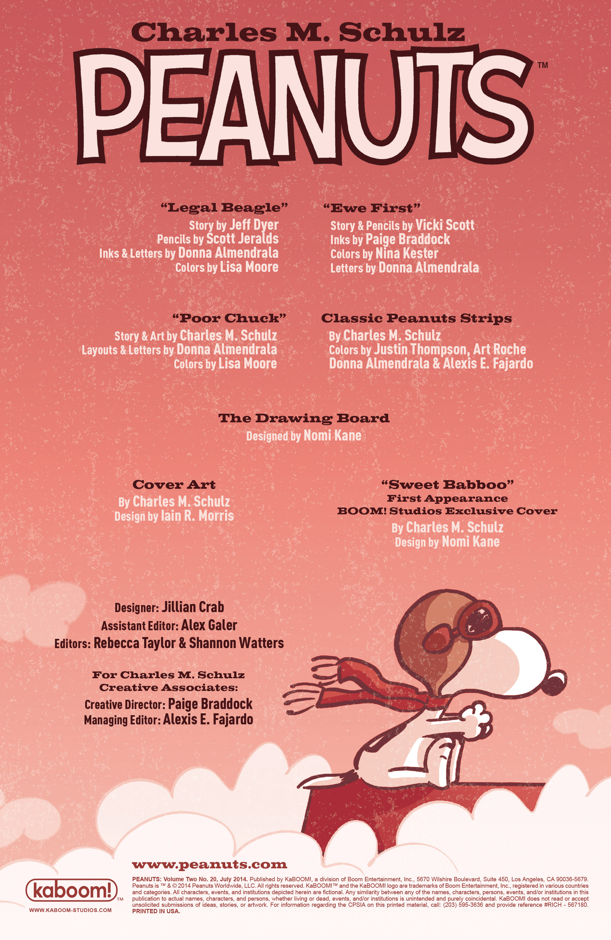Read online Peanuts (2012) comic -  Issue #20 - 2