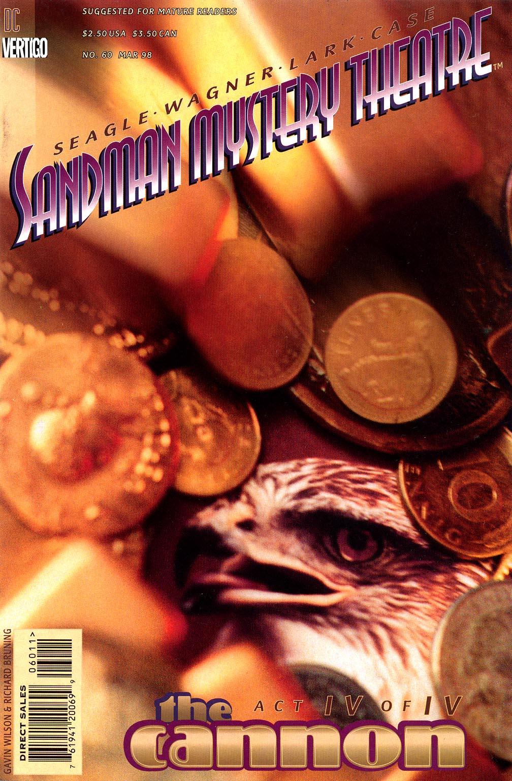 Sandman Mystery Theatre 60 Page 1
