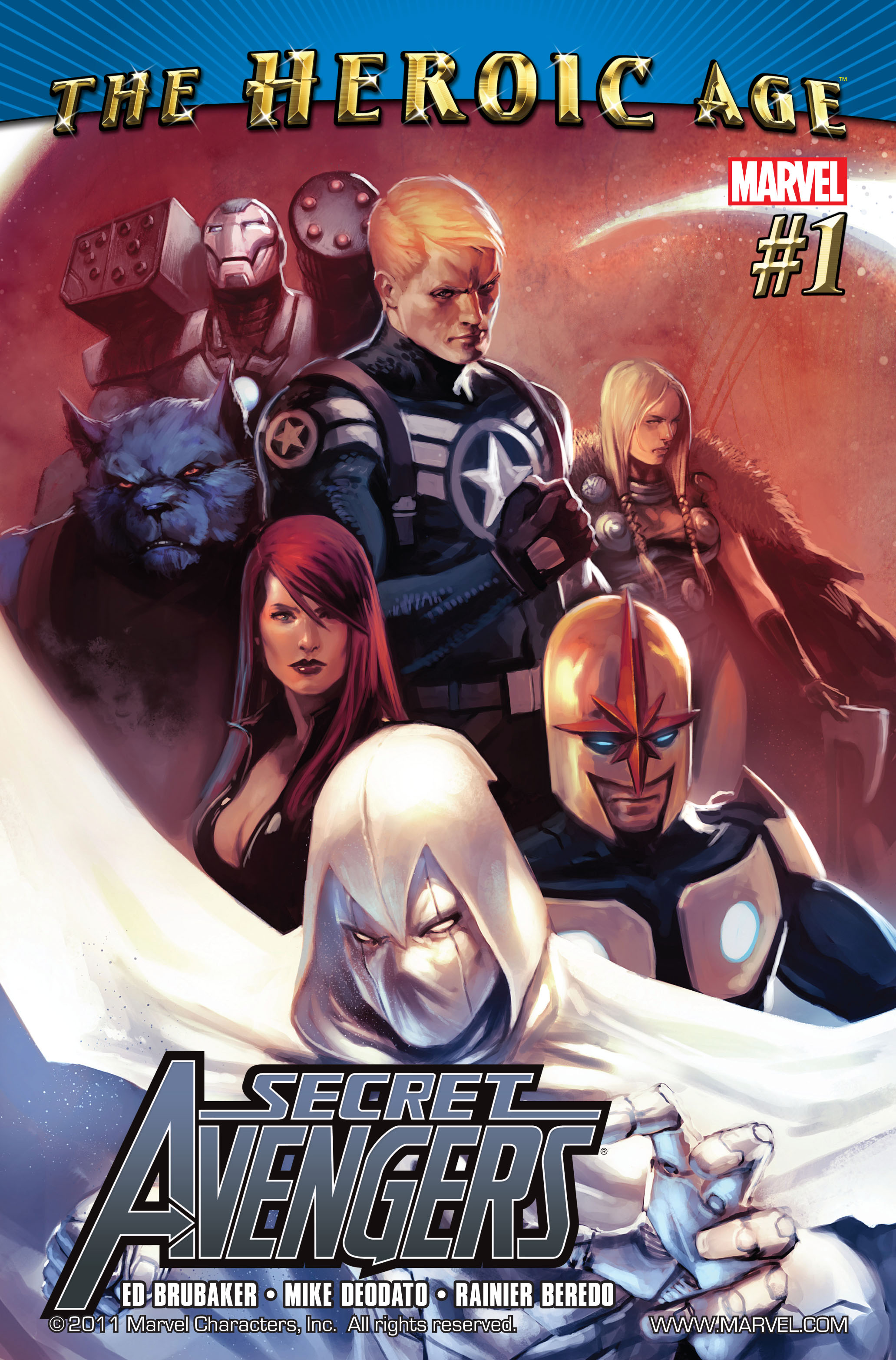 Read online Secret Avengers (2010) comic -  Issue #1 - 1