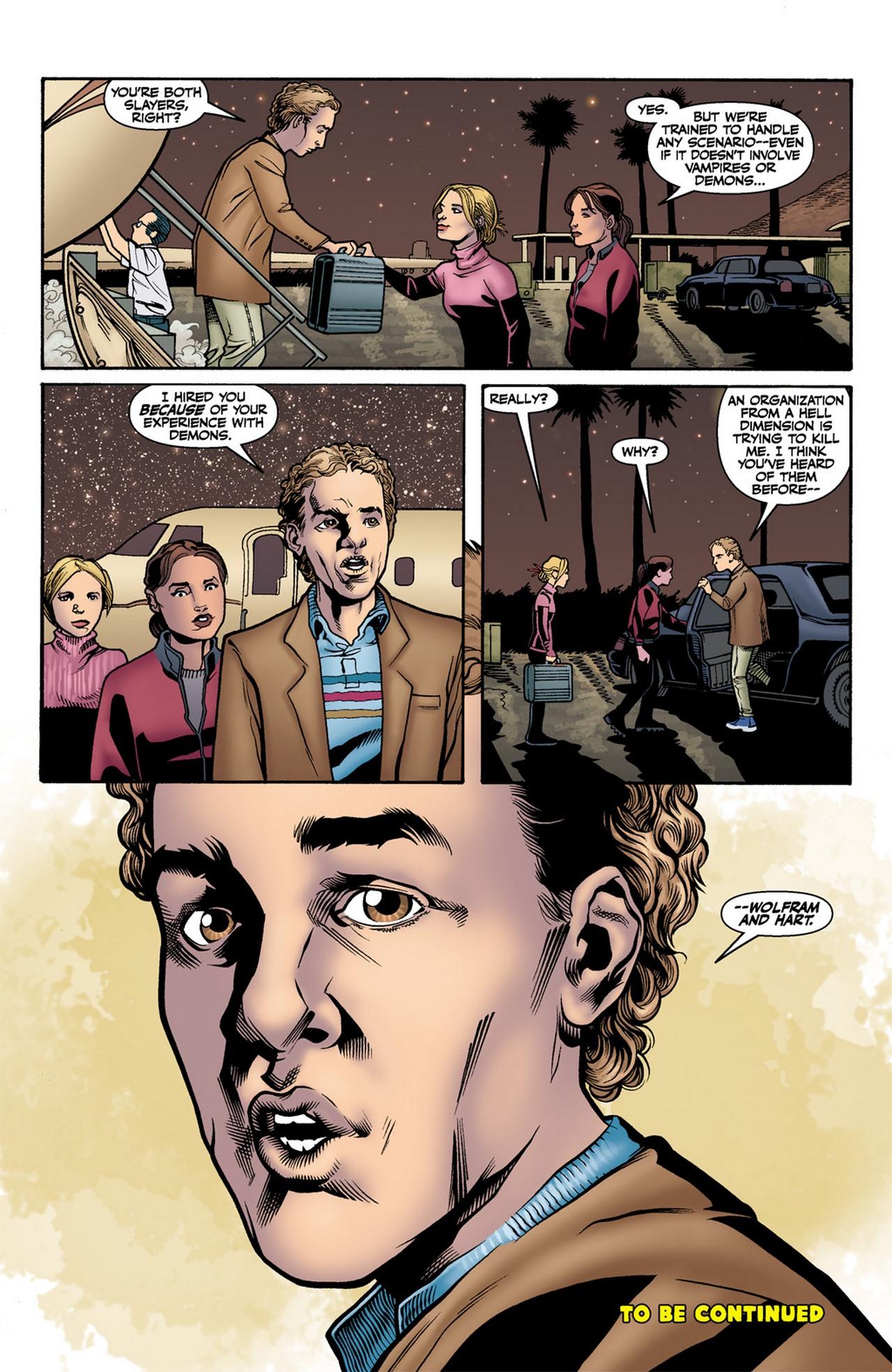 Read online Buffy the Vampire Slayer Season Nine comic -  Issue #11 - 24