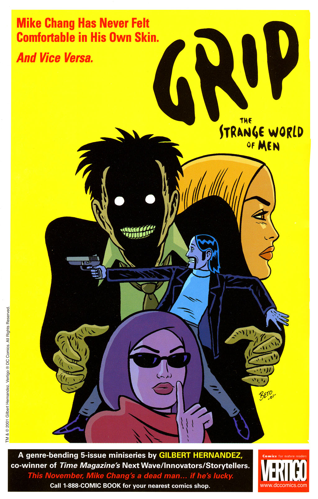 Read online Love and Rockets (2001) comic -  Issue #3 - 2